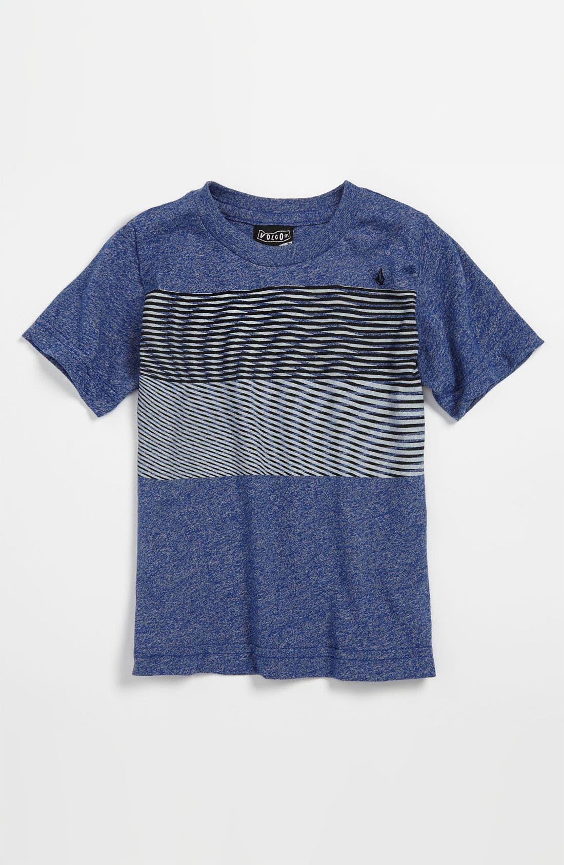 Alternate Image 1 Selected - Volcom 'Nue Volca' Stripe T-Shirt (Toddler)