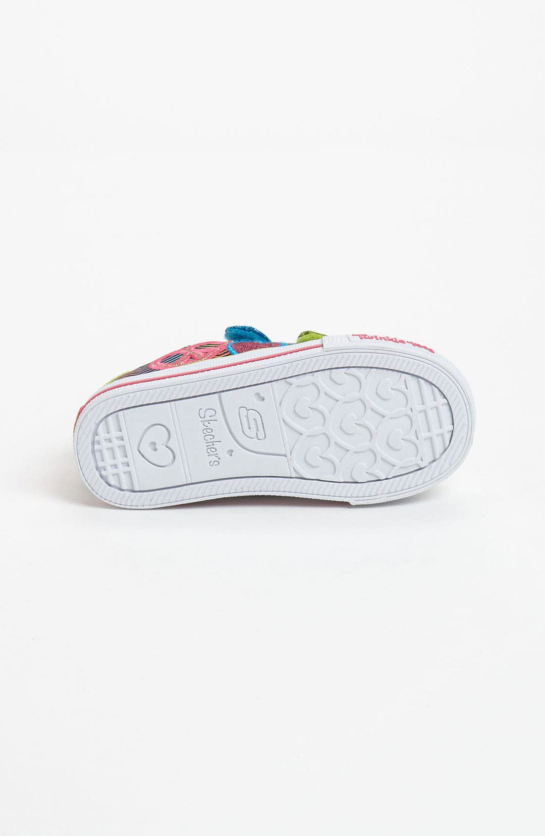 Alternate Image 4  - SKECHERS 'Shuffles - Baby Luv' Light Up Sneaker (Walker & Toddler)