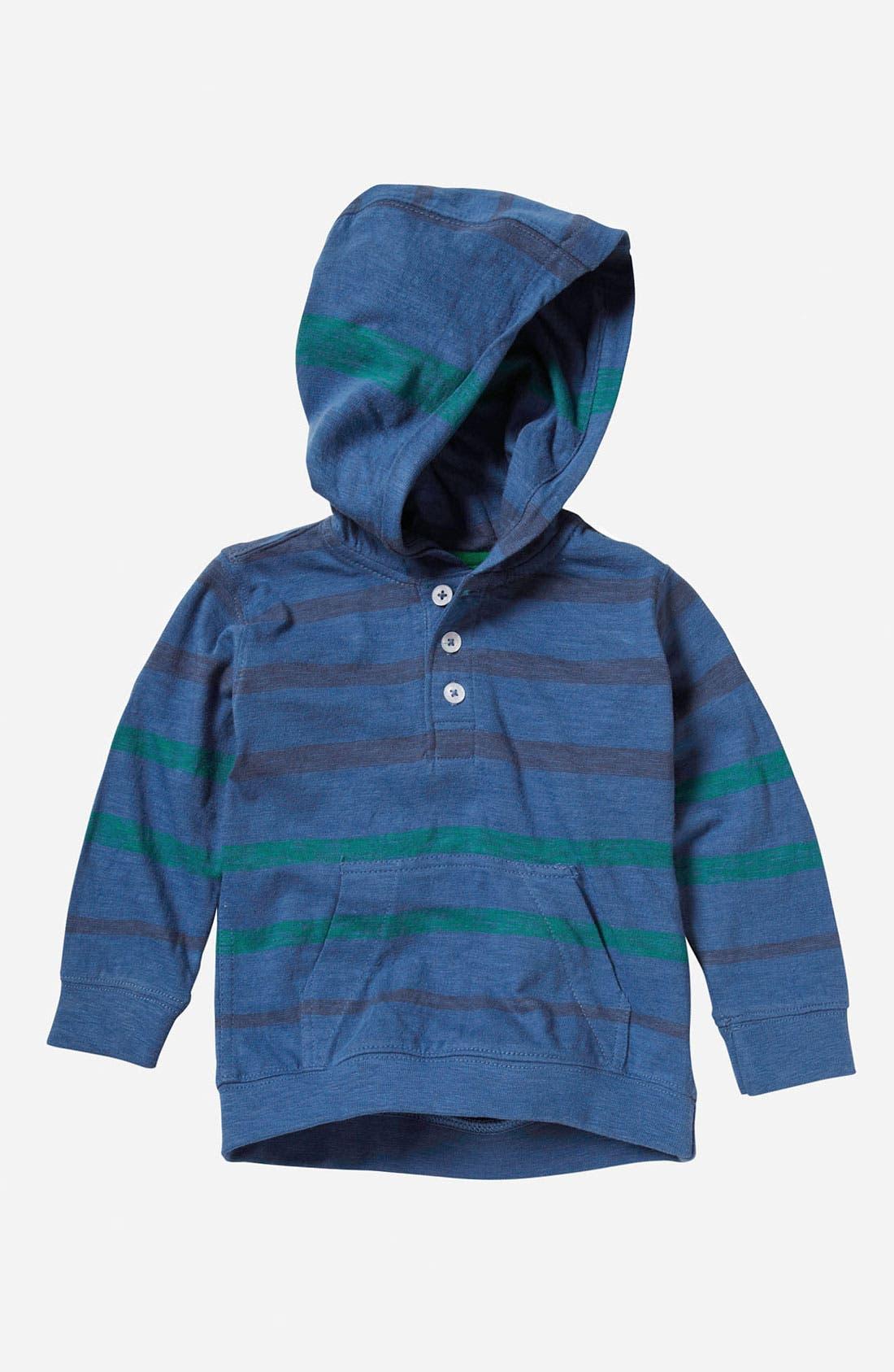 Main Image - Quiksilver 'Merz' Hooded Henley Top (Infant)