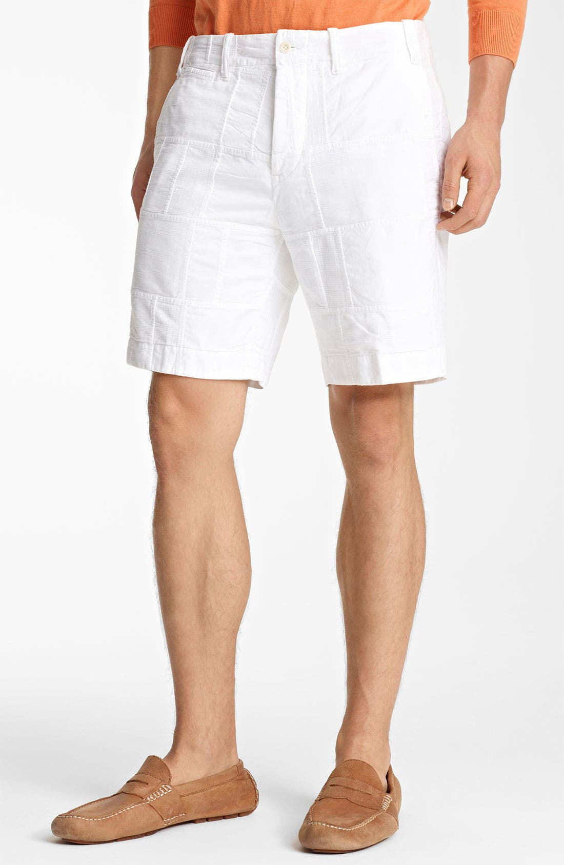 Alternate Image 1 Selected - Polo Ralph Lauren 'Patchwork Modern G.I.' Shorts