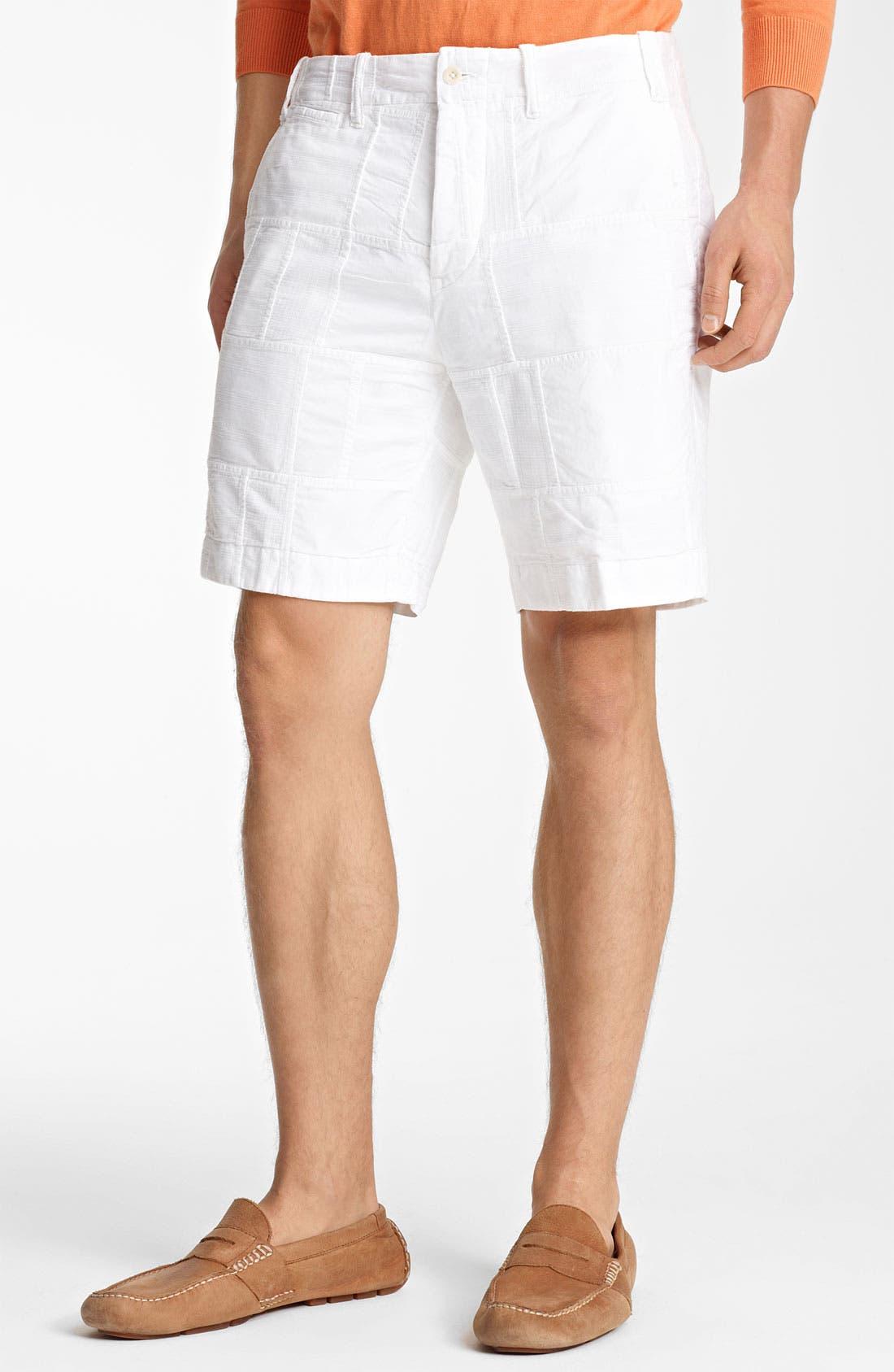 Main Image - Polo Ralph Lauren 'Patchwork Modern G.I.' Shorts