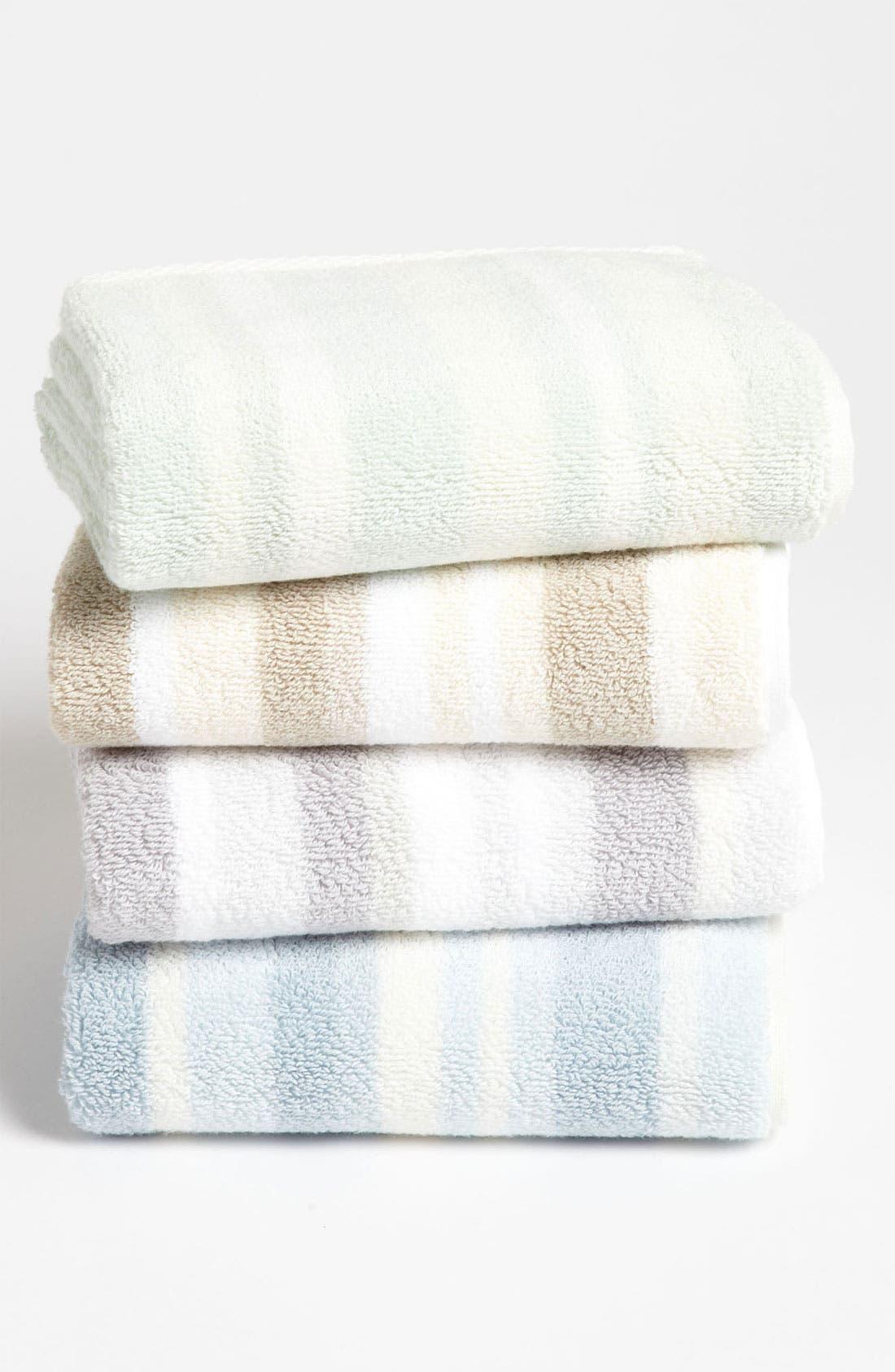 Alternate Image 2  - Waterworks Studio 'Perennial' Combed Turkish Cotton Hand Towel (Online Only)