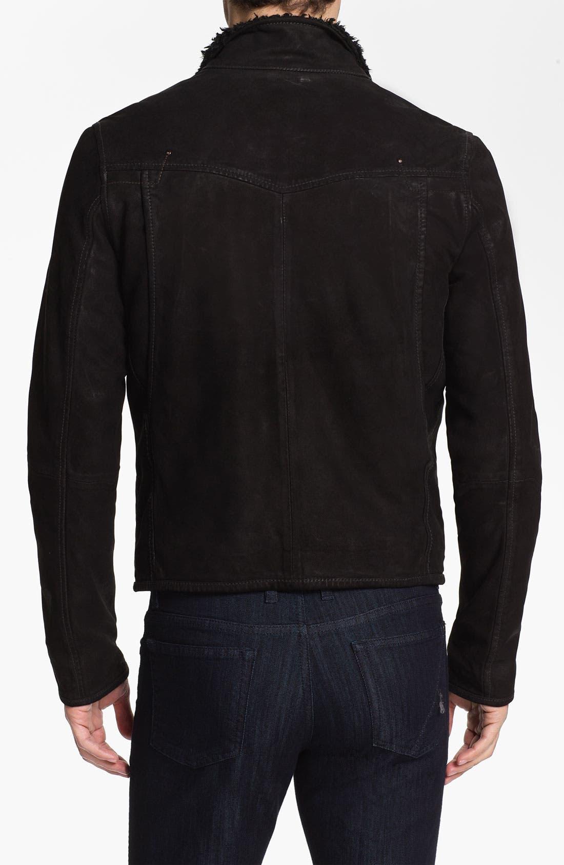 Alternate Image 2  - G-Star Raw 'Saddle' Leather Jacket