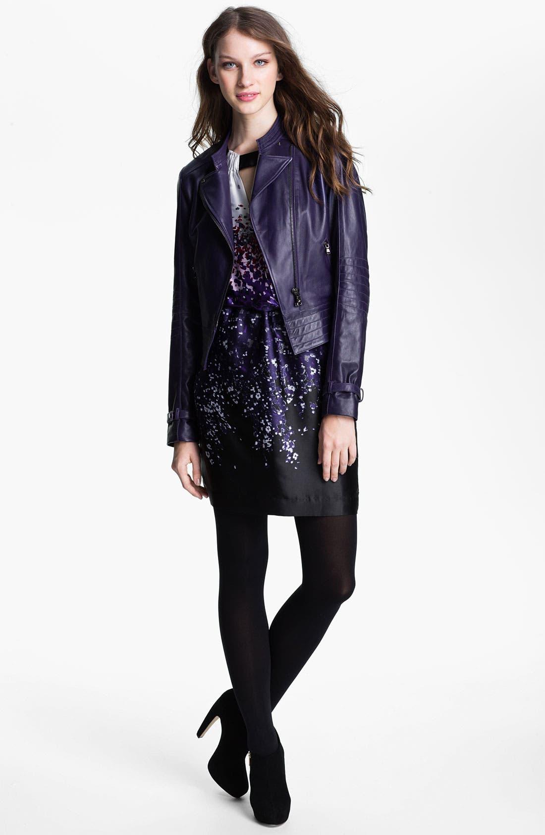 Alternate Image 4  - Kenneth Cole New York 'Maria' Metallic Leather Jacket