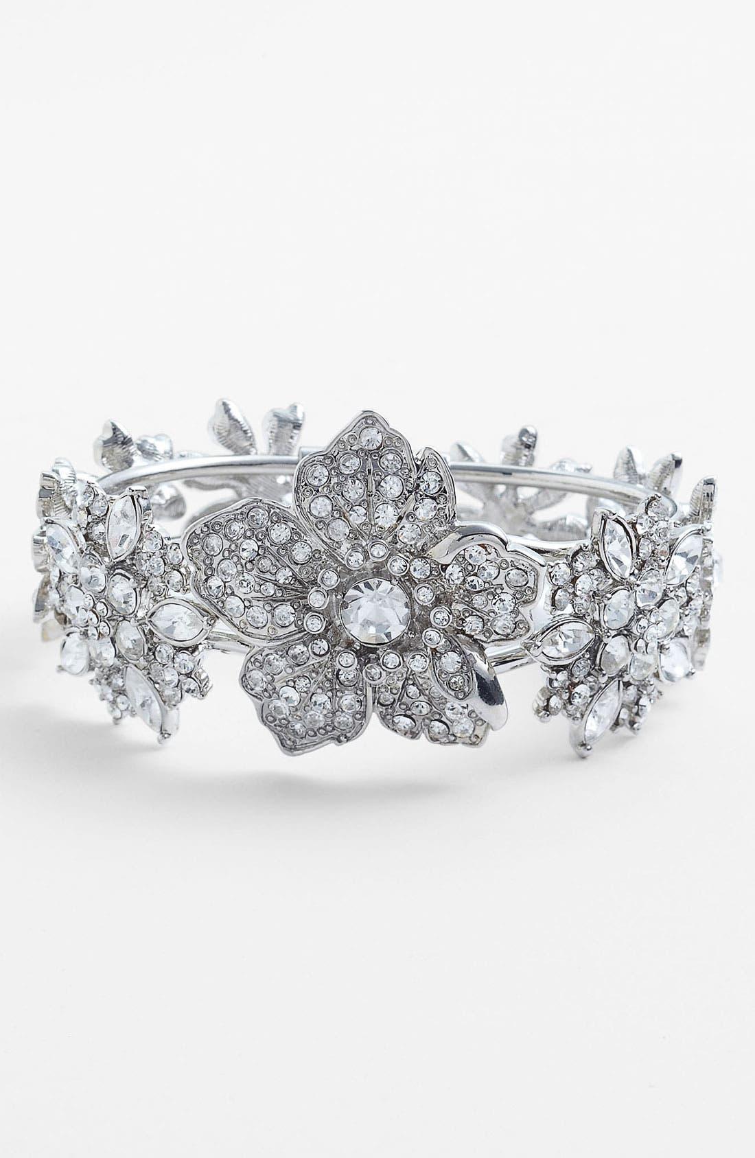 Alternate Image 1 Selected - Nina 'Galax' Hinged Bracelet