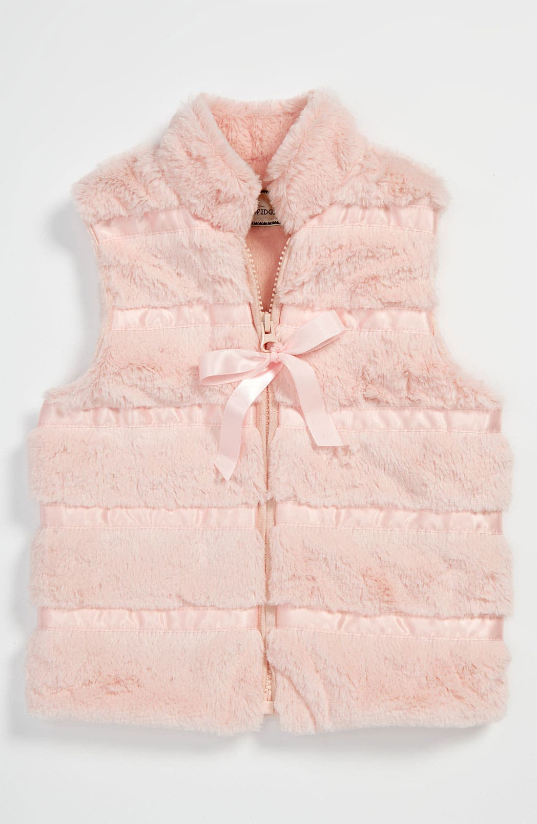 Alternate Image 1 Selected - Widgeon Faux Fur Vest (Toddler)
