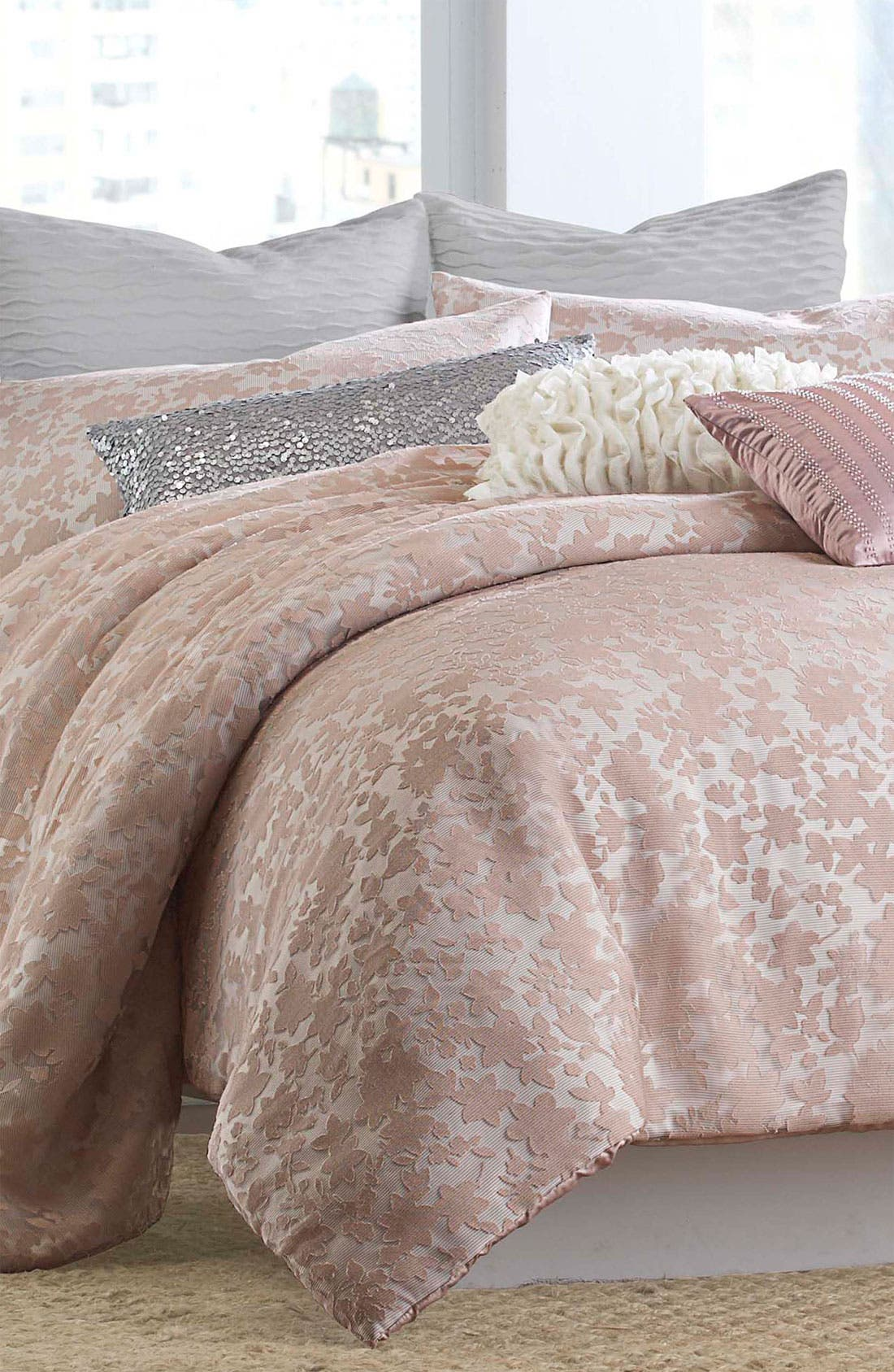 Alternate Image 1 Selected - DKNY 'Sweet Escape' Floral Comforter
