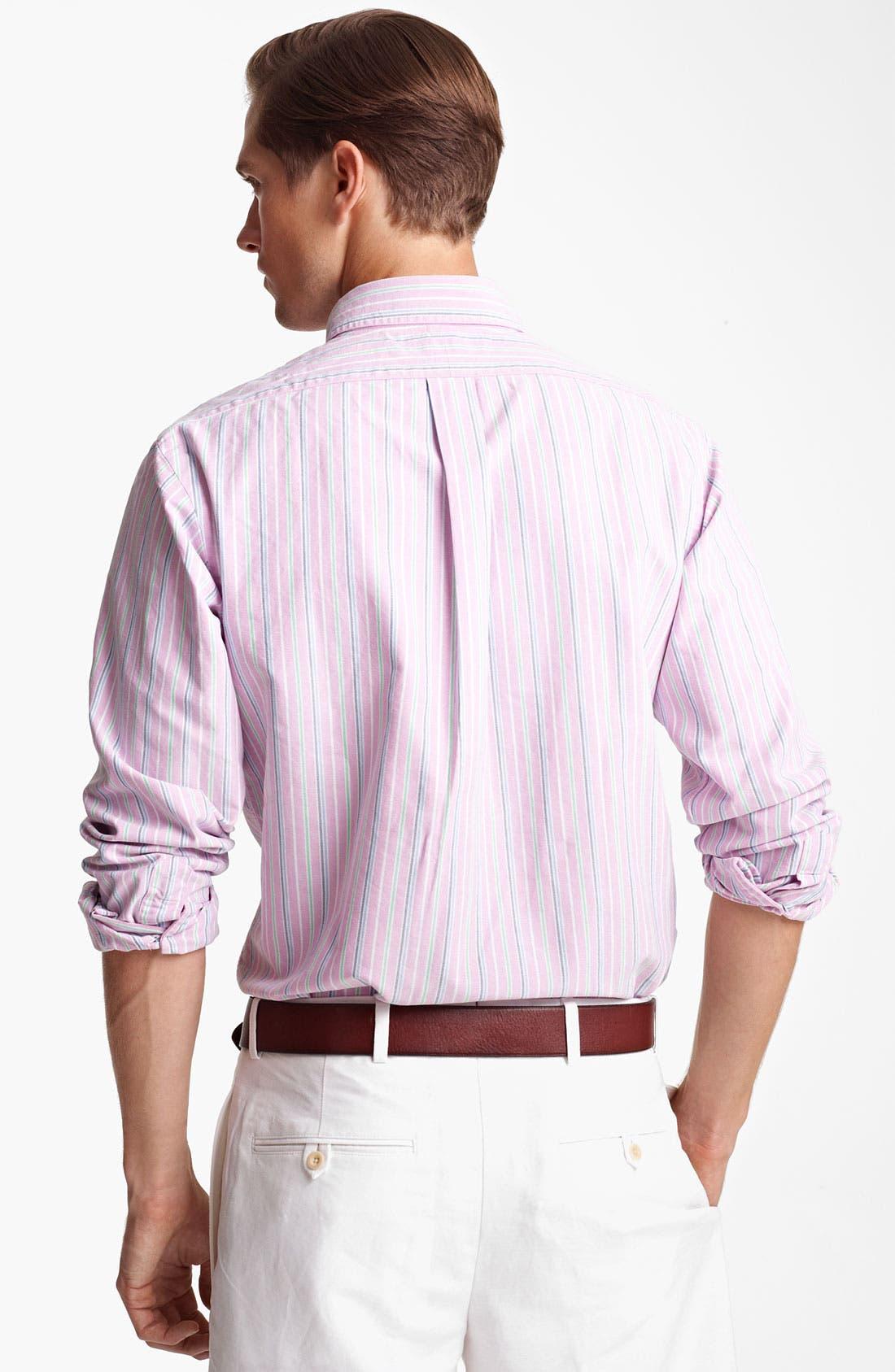 Alternate Image 2  - Polo Ralph Lauren Custom Fit Sport Shirt (Online Only)
