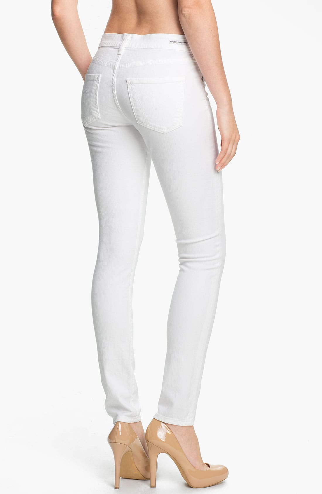 Alternate Image 2  - Citizens of Humanity Skinny Stretch Jeans (Santorini)