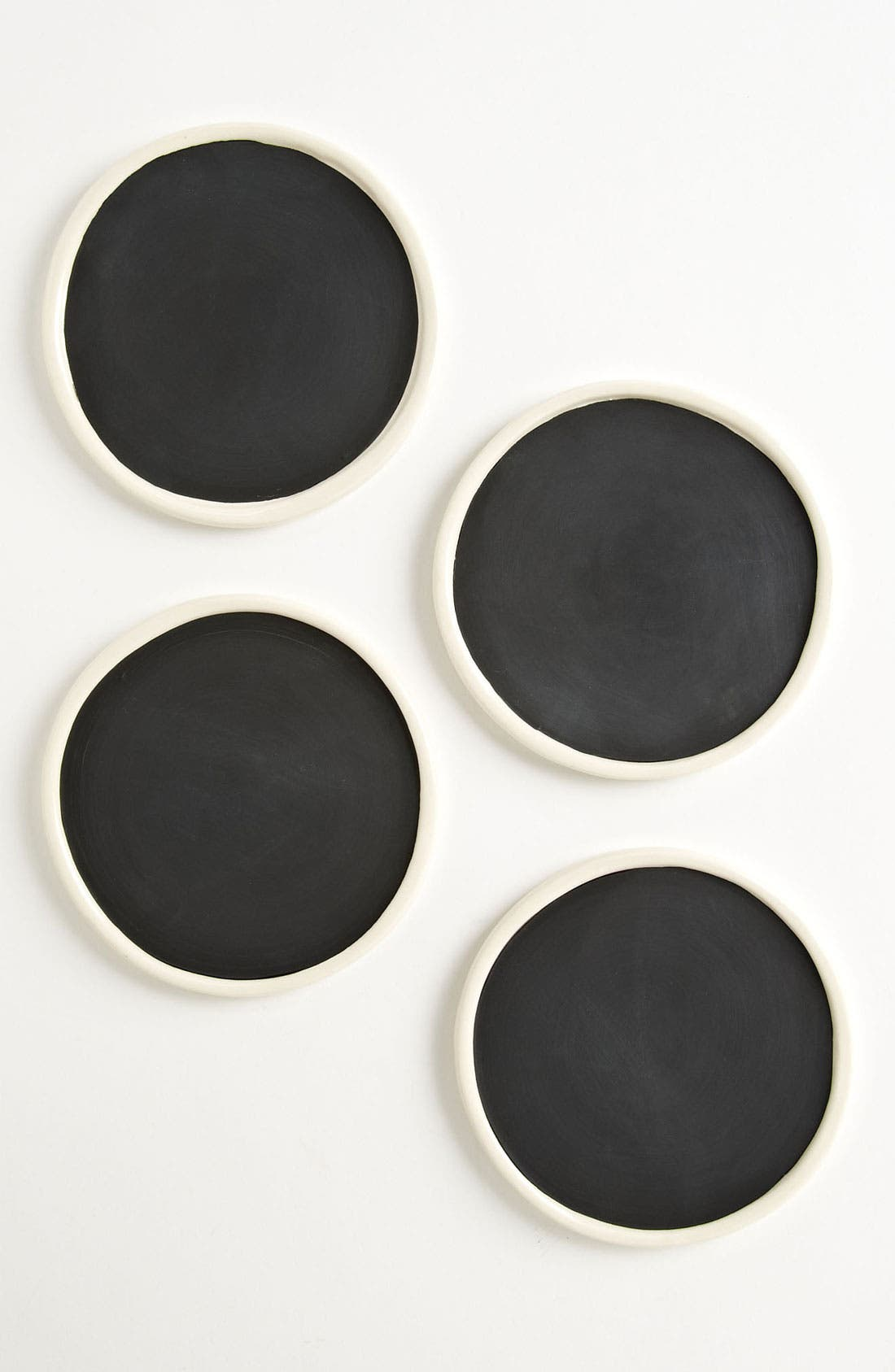 Alternate Image 1 Selected - Rae Dunn by Magenta 'Take Note' Chalkboard Coasters (Set of 4)