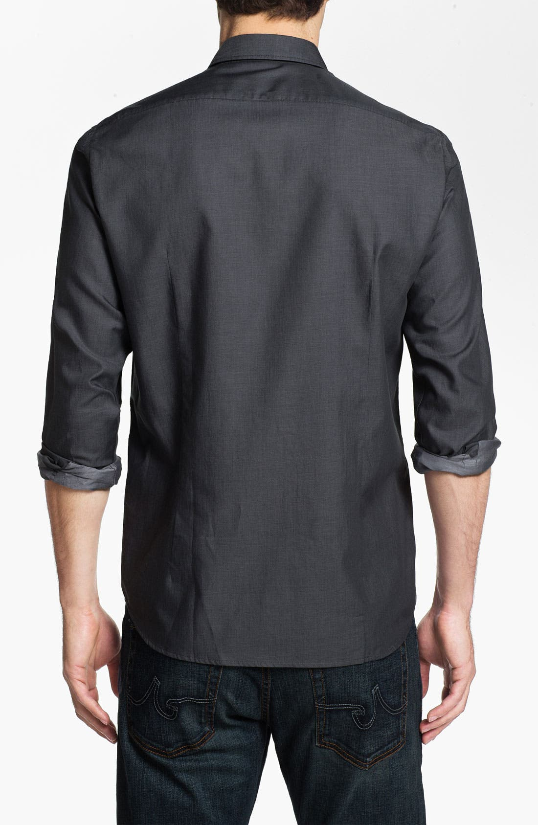 Alternate Image 2  - BOSS Black 'Lorenzo' Regular Fit Sport Shirt