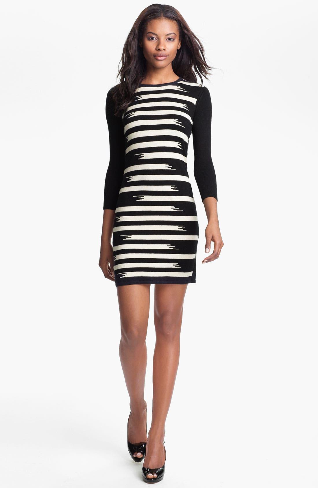 Alternate Image 1 Selected - Gryphon Broken Stripe Knit Dress