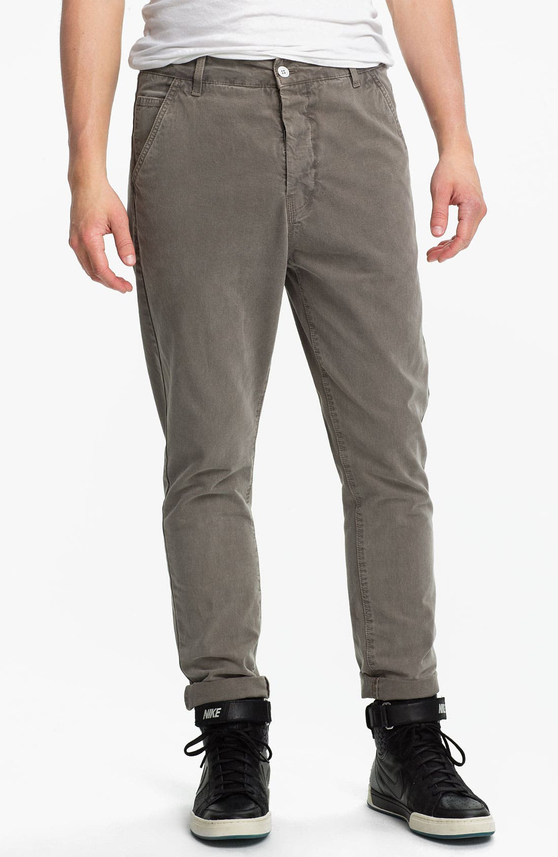 Alternate Image 1 Selected - Topman Skinny Carrot Fit Pants
