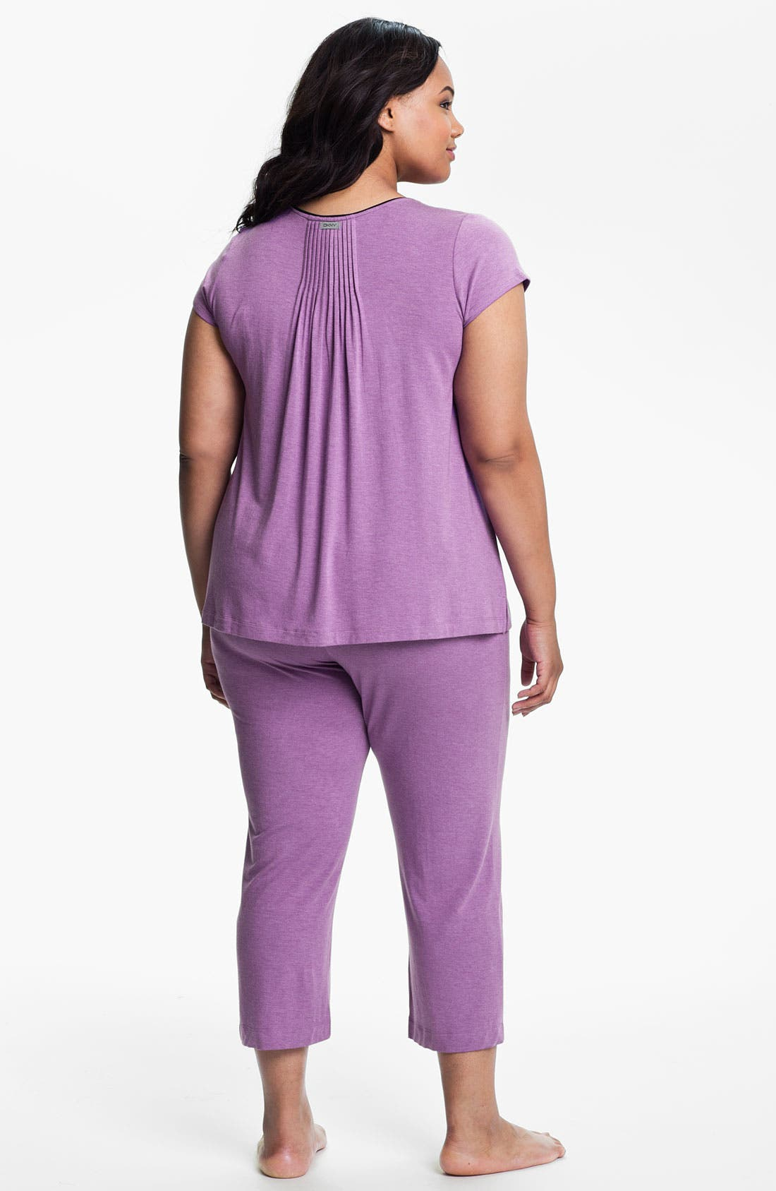 Alternate Image 5  - DKNY '7 Easy Pieces' Capri Pants (Plus Size)