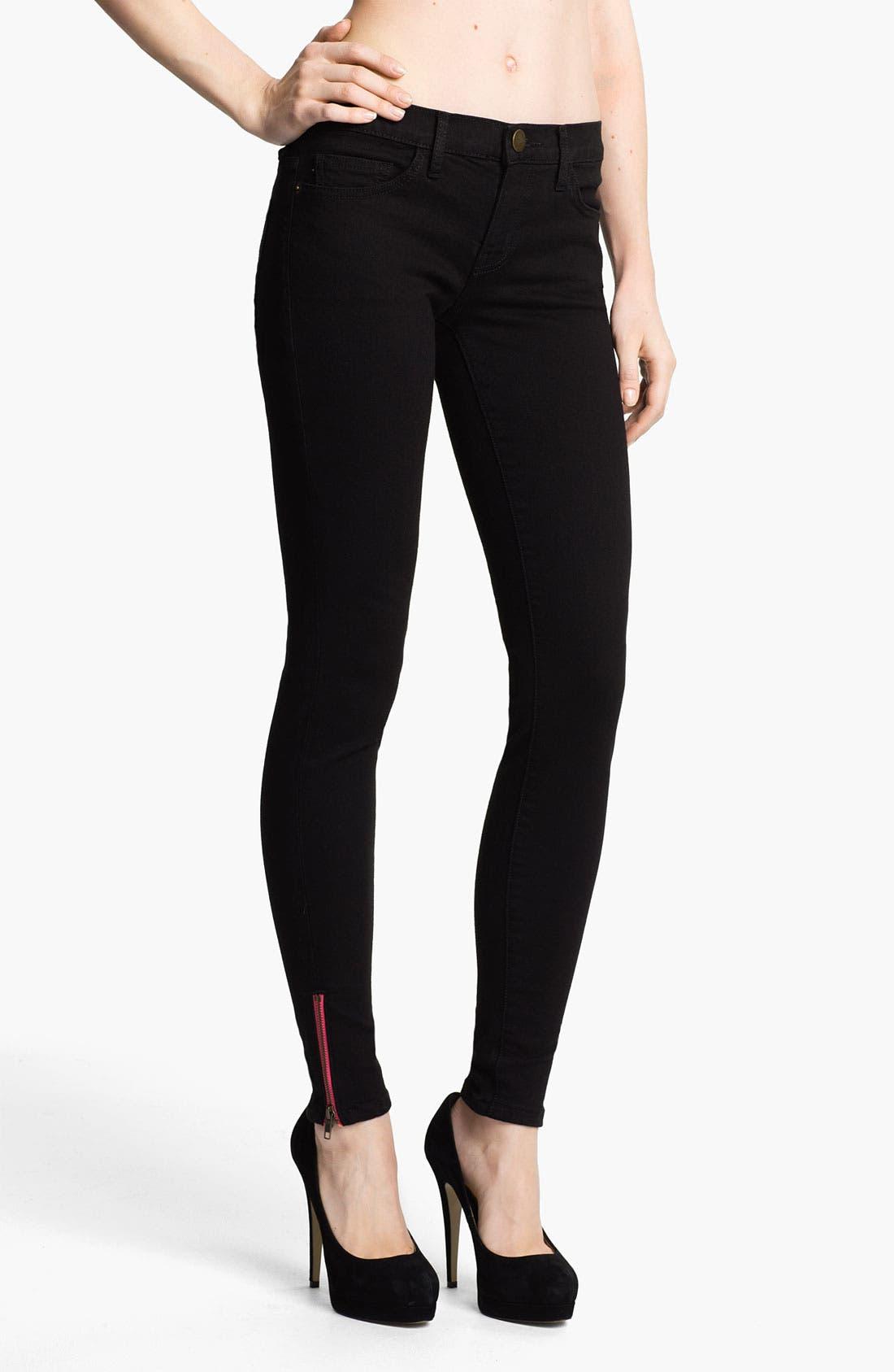 Alternate Image 1 Selected - Current/Elliott Skinny Stretch Ankle Jeans