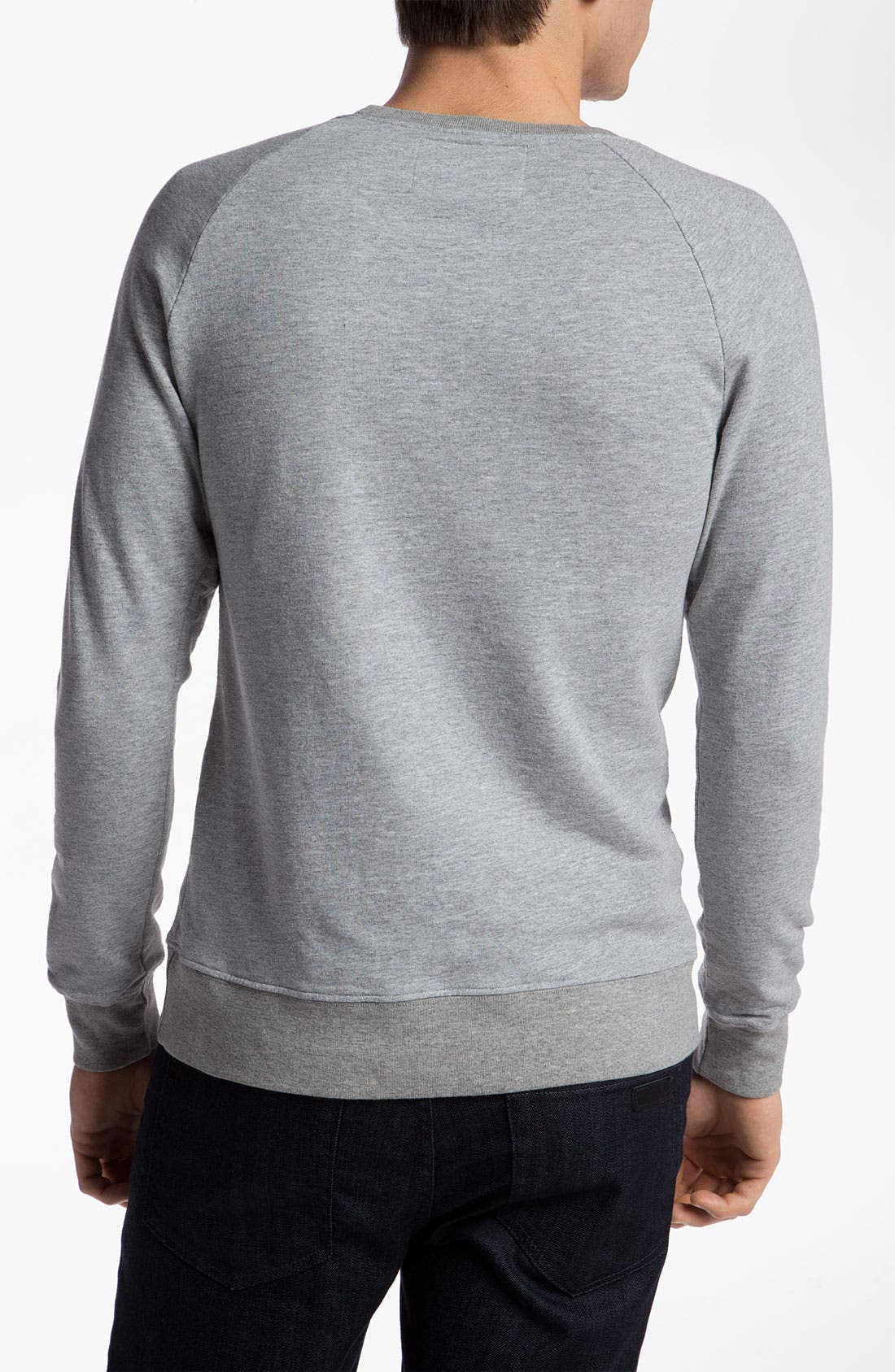 Alternate Image 2  - Altru 'LIFE® Logo' Graphic Crewneck Sweatshirt