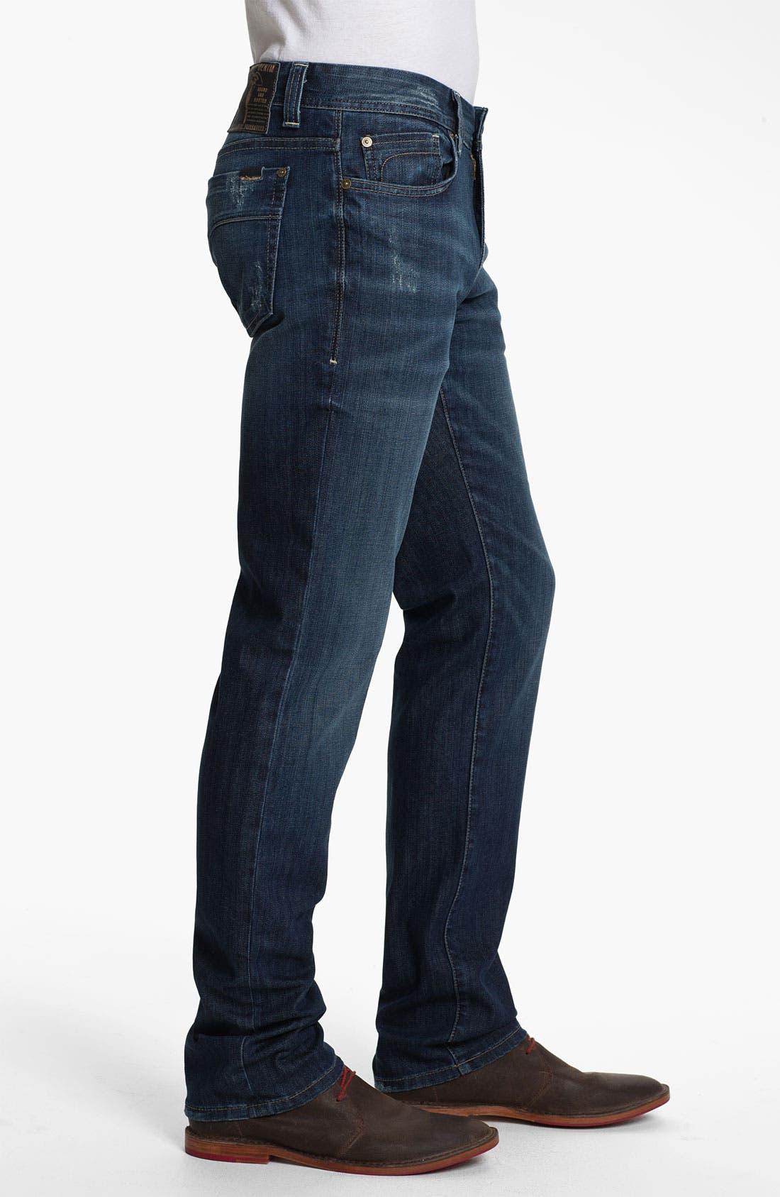 Alternate Image 3  - Fidelity Denim 'Slim Jim' Slim Straight Leg Jeans (Exile Vintage)