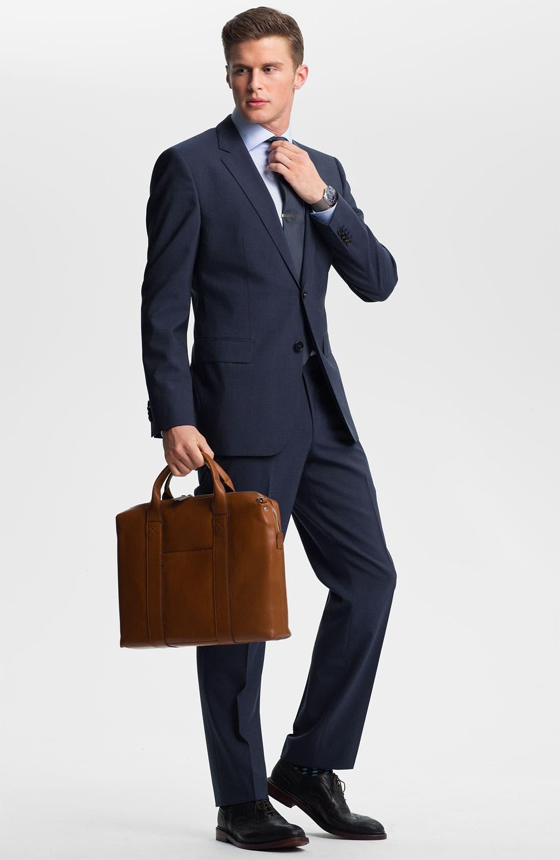 Alternate Image 2  - BOSS Black 'James/Sharp' Trim Fit Suit