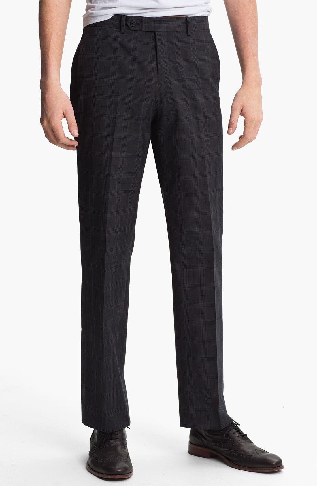 Alternate Image 1 Selected - John Varvatos Star USA Red Label Slim Straight Leg Trousers