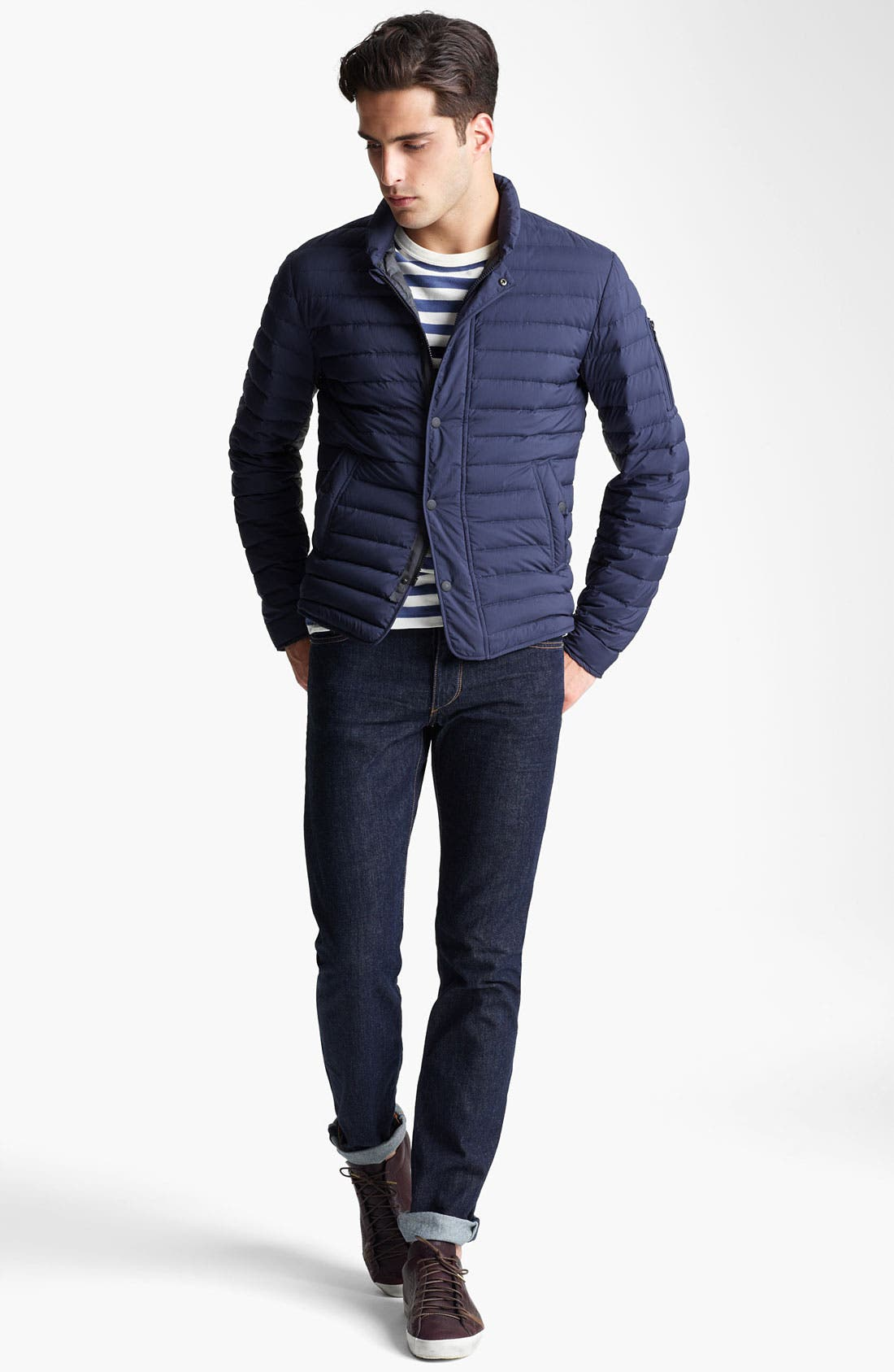 Alternate Image 4  - rag & bone 'Chelsea' Quilted Jacket