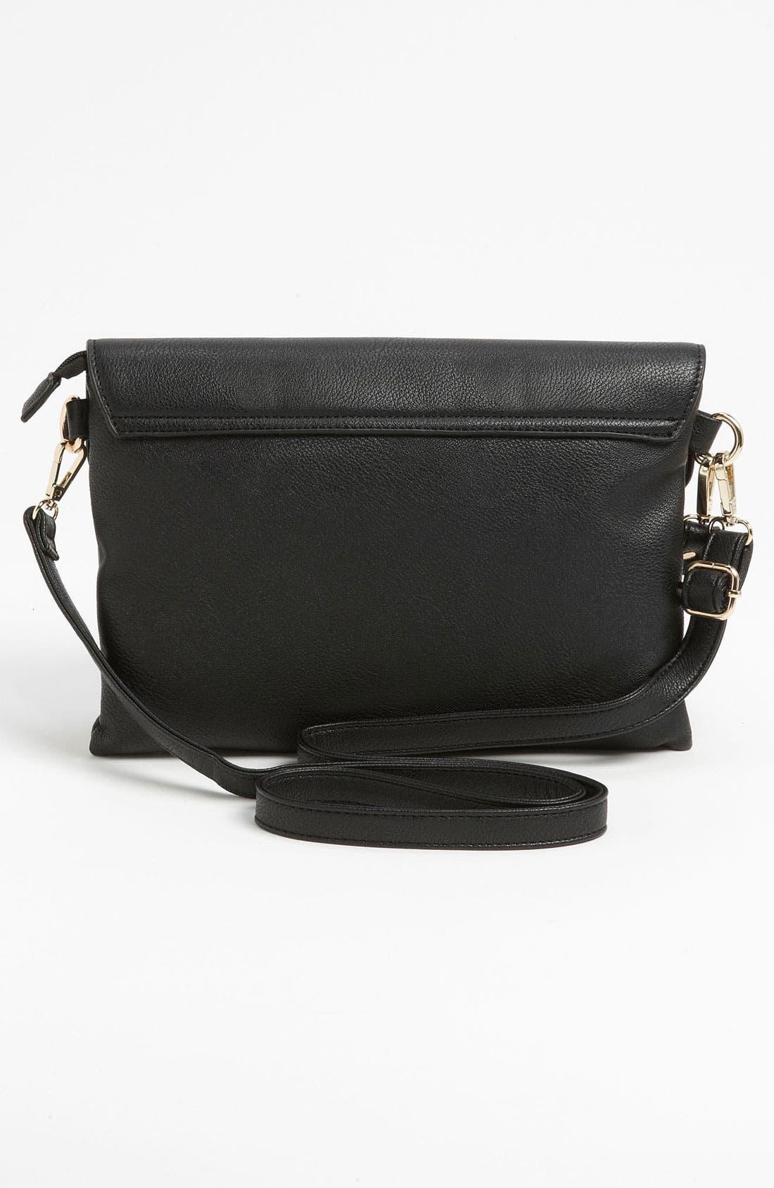 Alternate Image 4  - High Fashion Handbags Studded Envelope Clutch