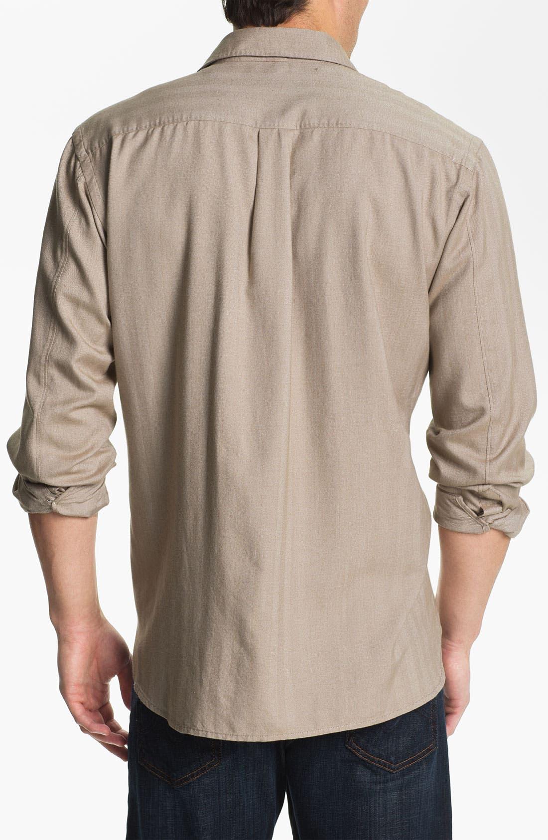 Alternate Image 2  - Tommy Bahama 'Harbor Island' Silk & Cotton Sport Shirt (Big & Tall)