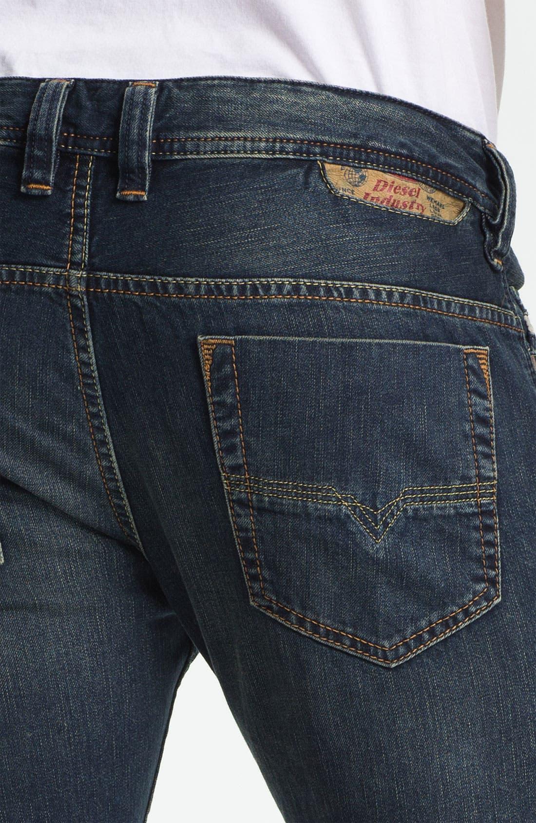 Alternate Image 4  - DIESEL® 'Safado' Straight Leg Jeans (0807U)