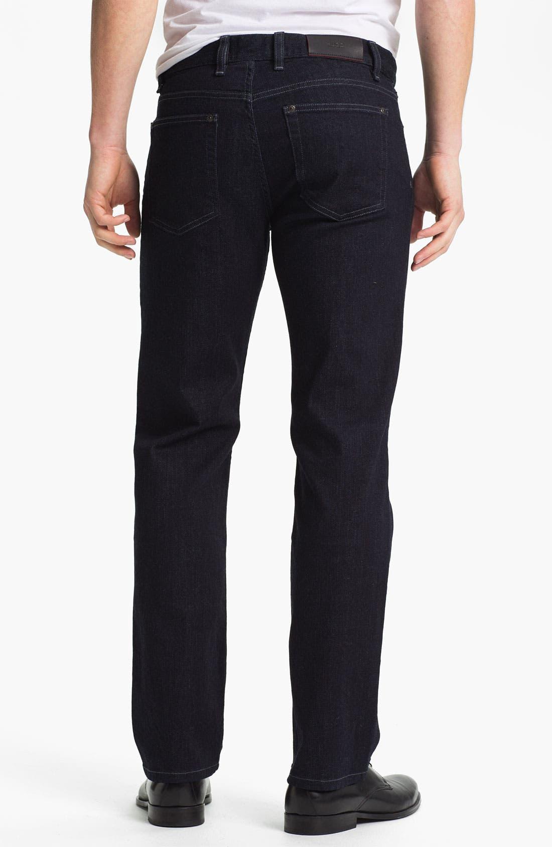 Alternate Image 2  - HUGO Five-Pocket Jeans