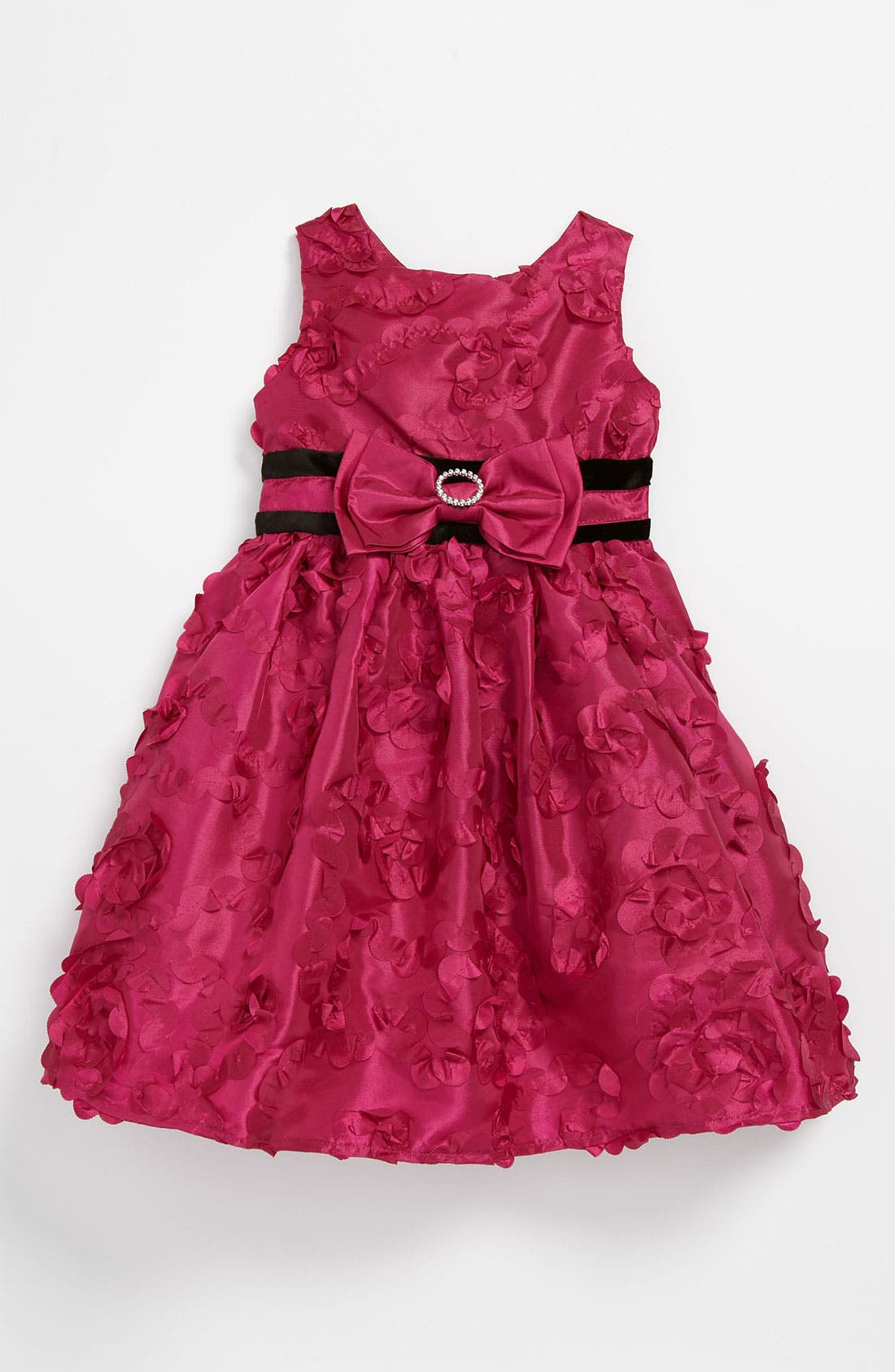Main Image - Sweet Heart Rose Sleeveless Dress (Toddler)