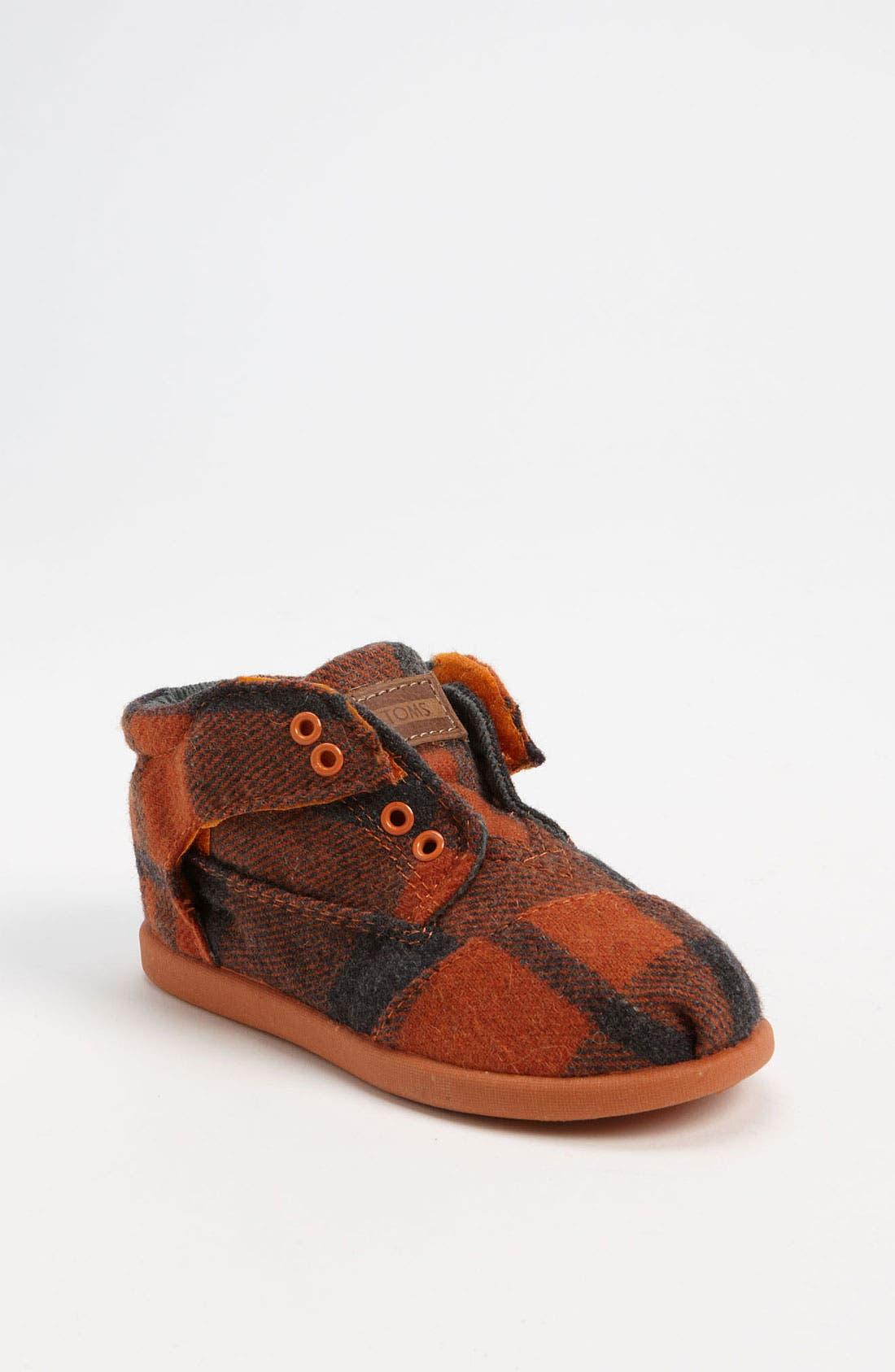 Main Image - TOMS 'Botas' Woolen Boot (Baby, Walker & Toddler)
