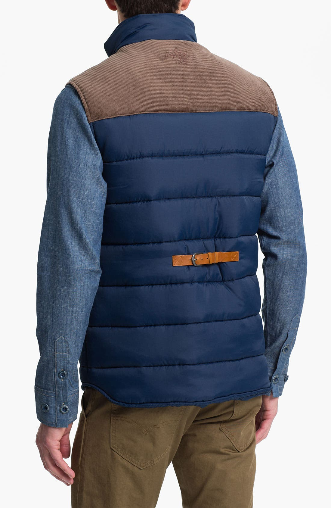 Alternate Image 2  - Marshall Artist Tailored Quilted Vest