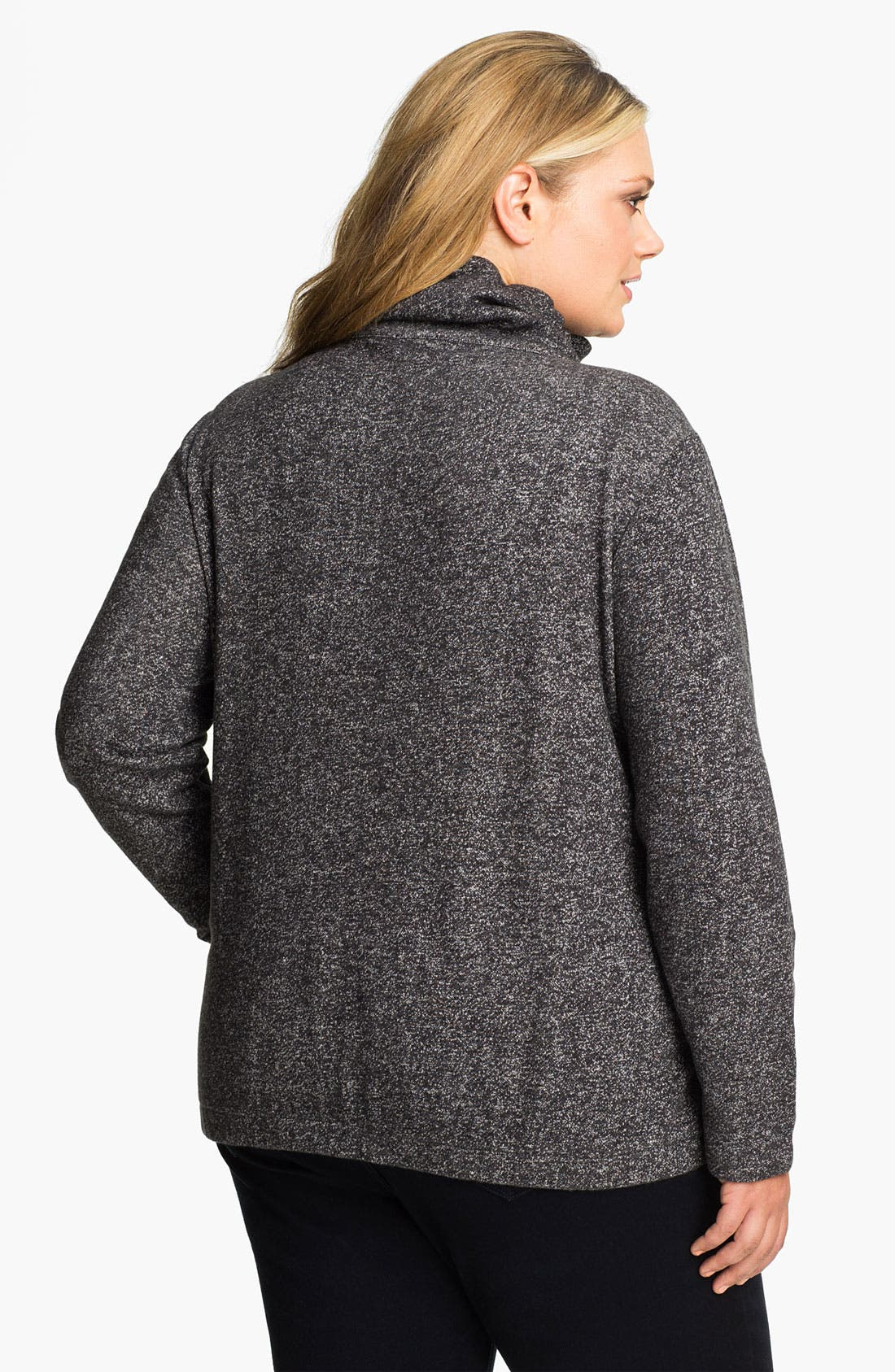 Alternate Image 2  - Sejour 'Weekend' Zip Front Jacket (Plus)