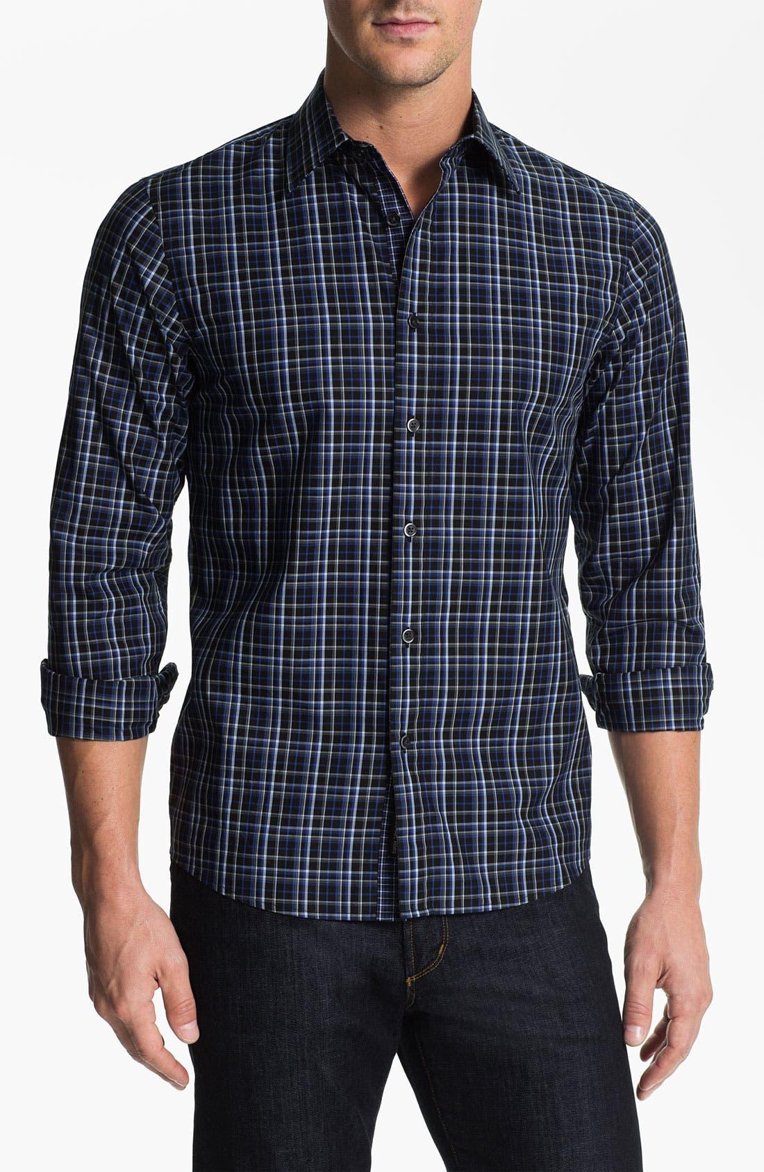 Alternate Image 1 Selected - Michael Kors 'Cyd Check' Sport Shirt