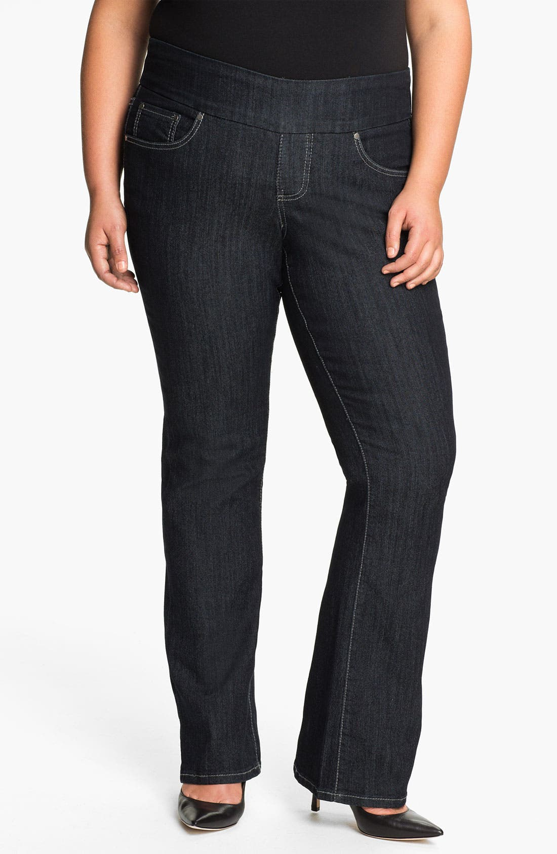 Alternate Image 1 Selected - Jag Jeans 'Holland' Bootcut Jeans (Plus)