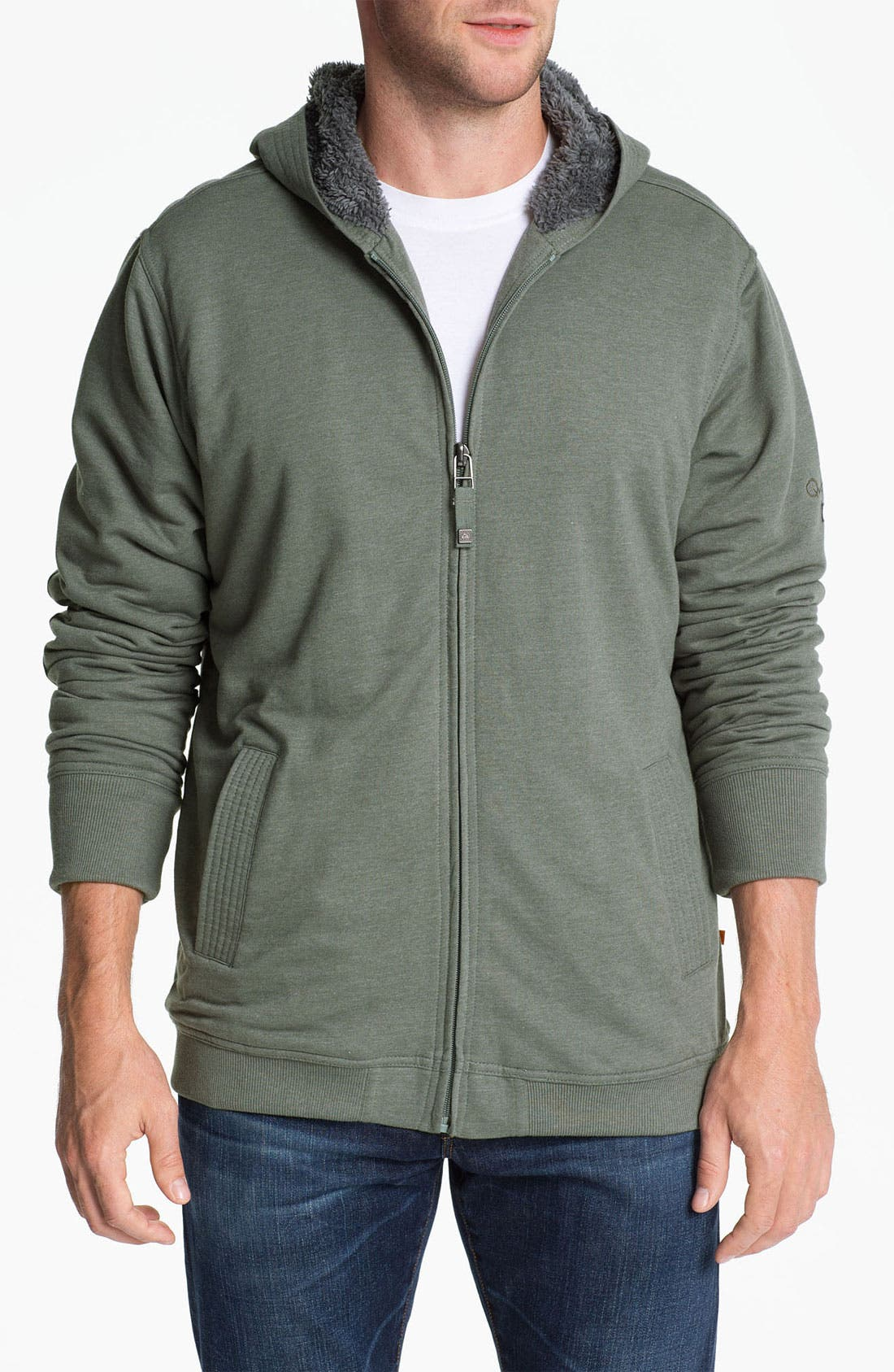 Alternate Image 1 Selected - Quiksilver 'Tofino Beach' Zip Hoodie