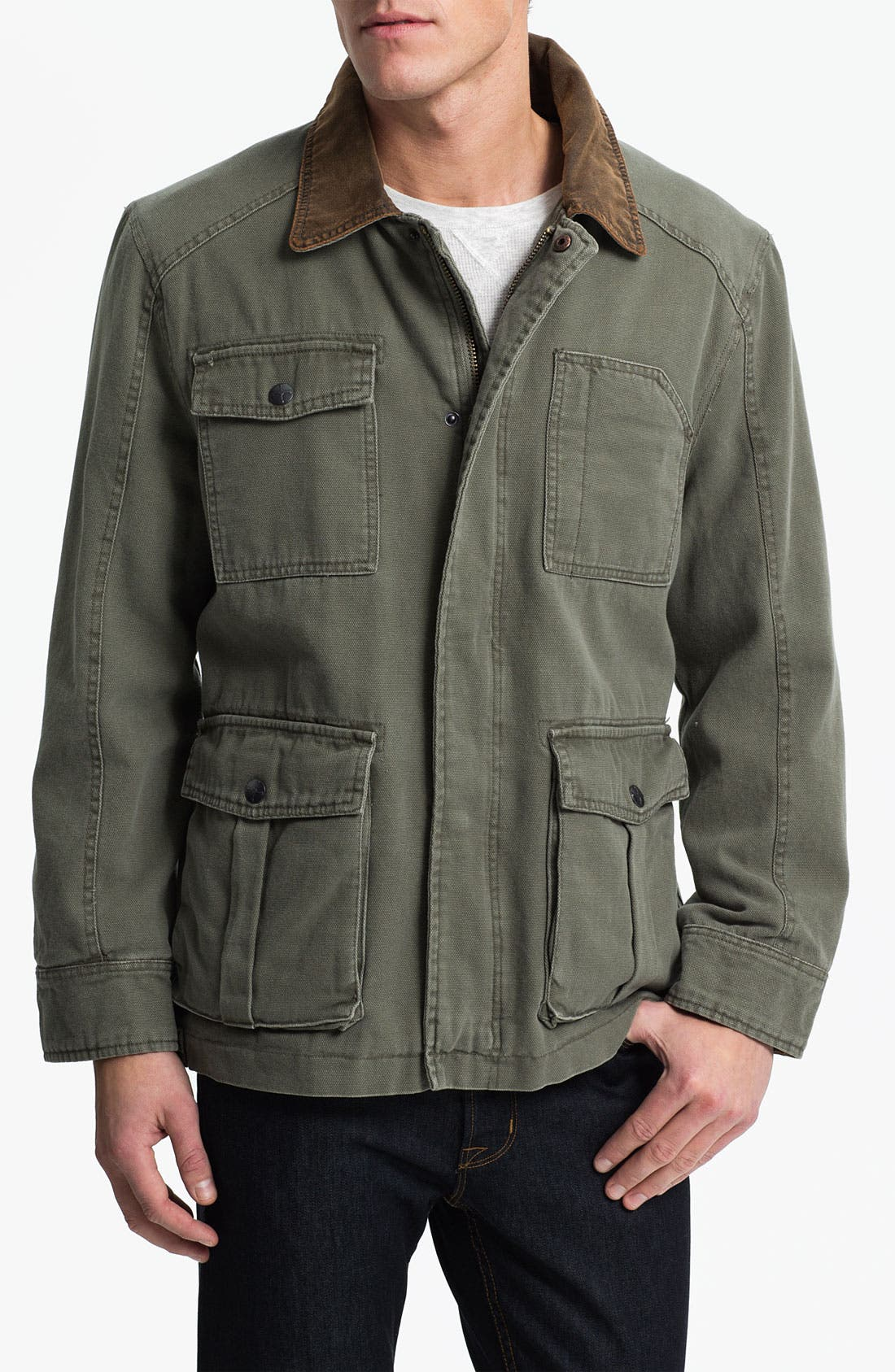 Main Image - Denim & Leathers by Andrew Marc Workwear Jacket