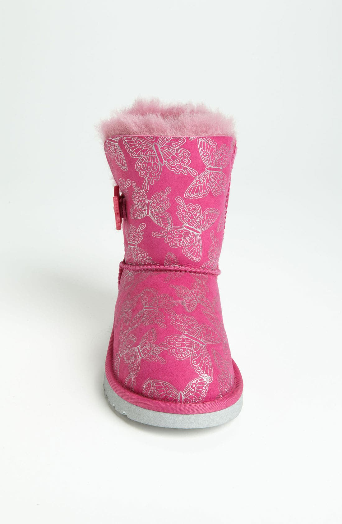 Alternate Image 3  - UGG® Australia 'Bailey Button - Butterfly' Boot (Walker, Toddler, Little Kid & Big Kid)