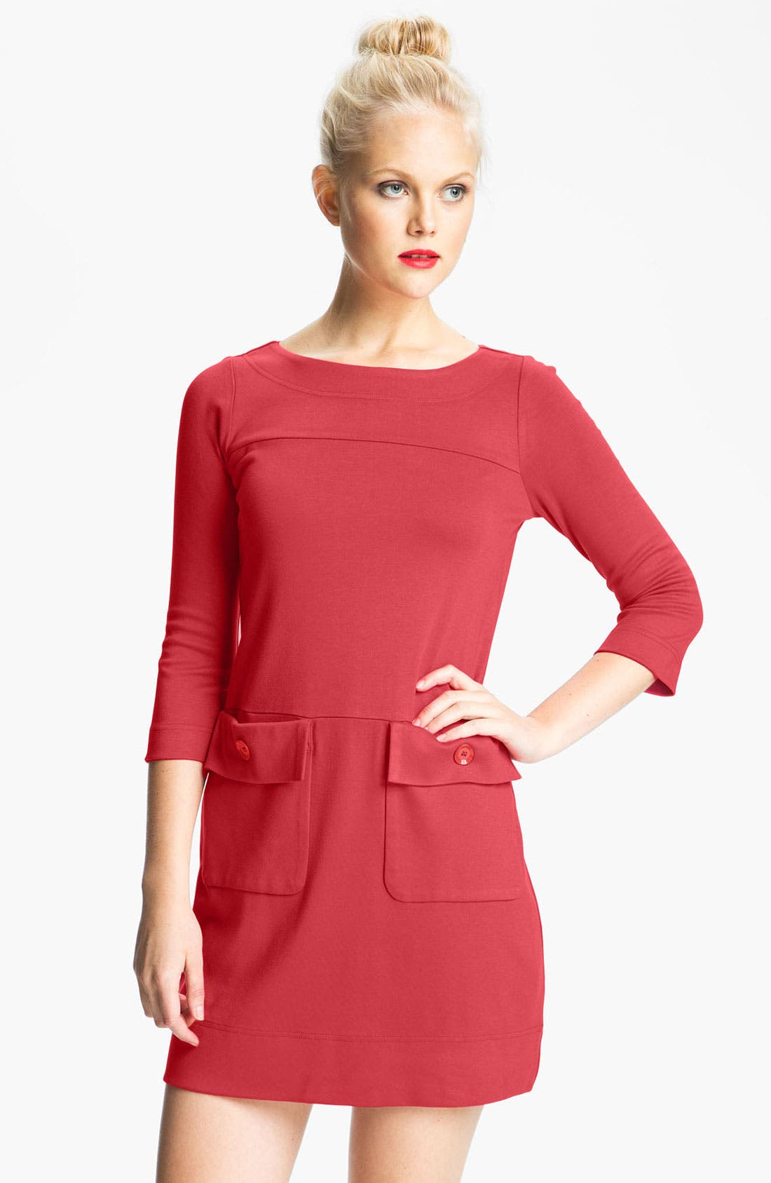 Main Image - MARC BY MARC JACOBS 'Billy' Patch Pocket Shift Dress