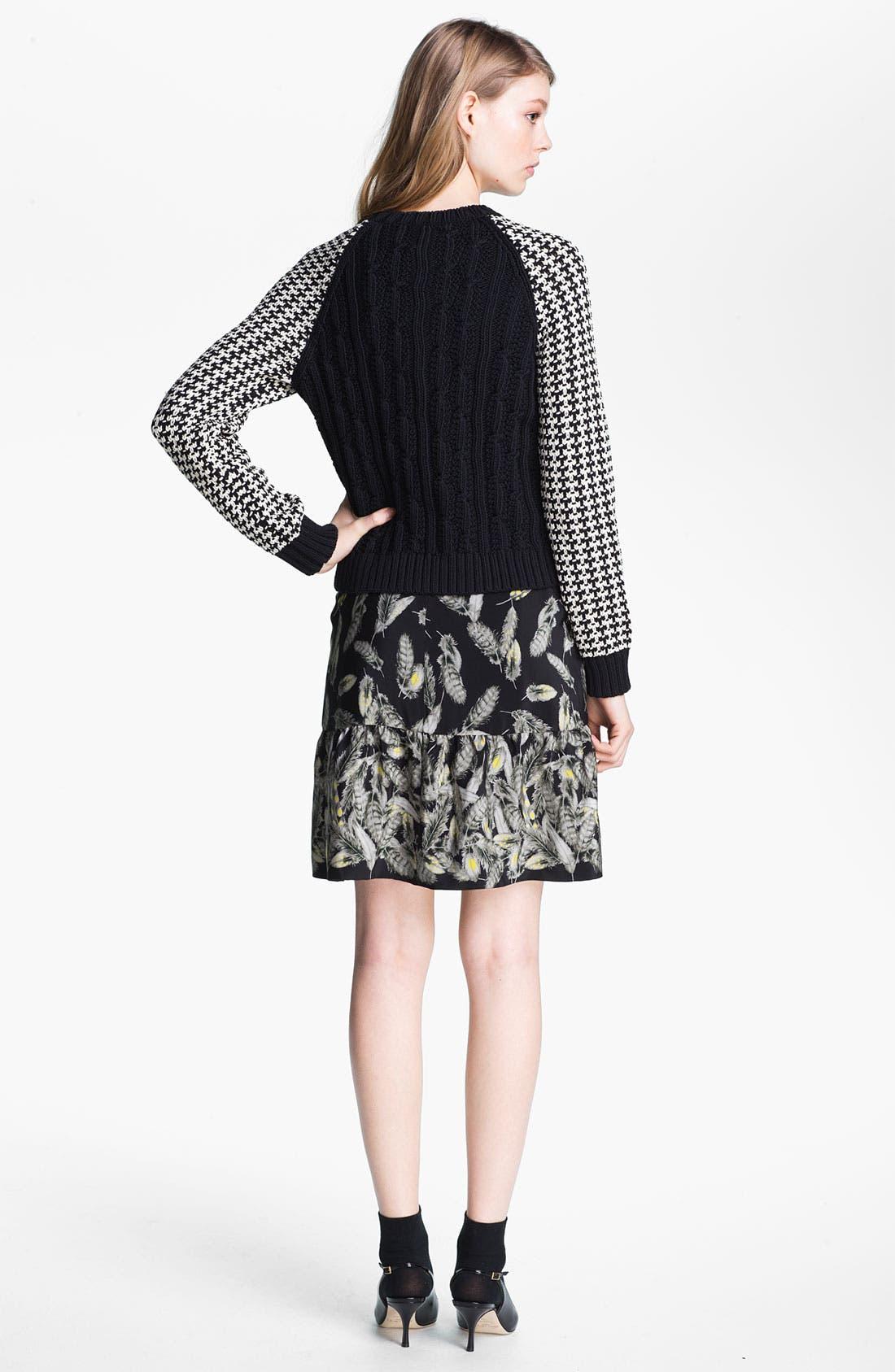 Alternate Image 4  - Miss Wu Contrast Sleeve Sweater (Nordstrom Exclusive)