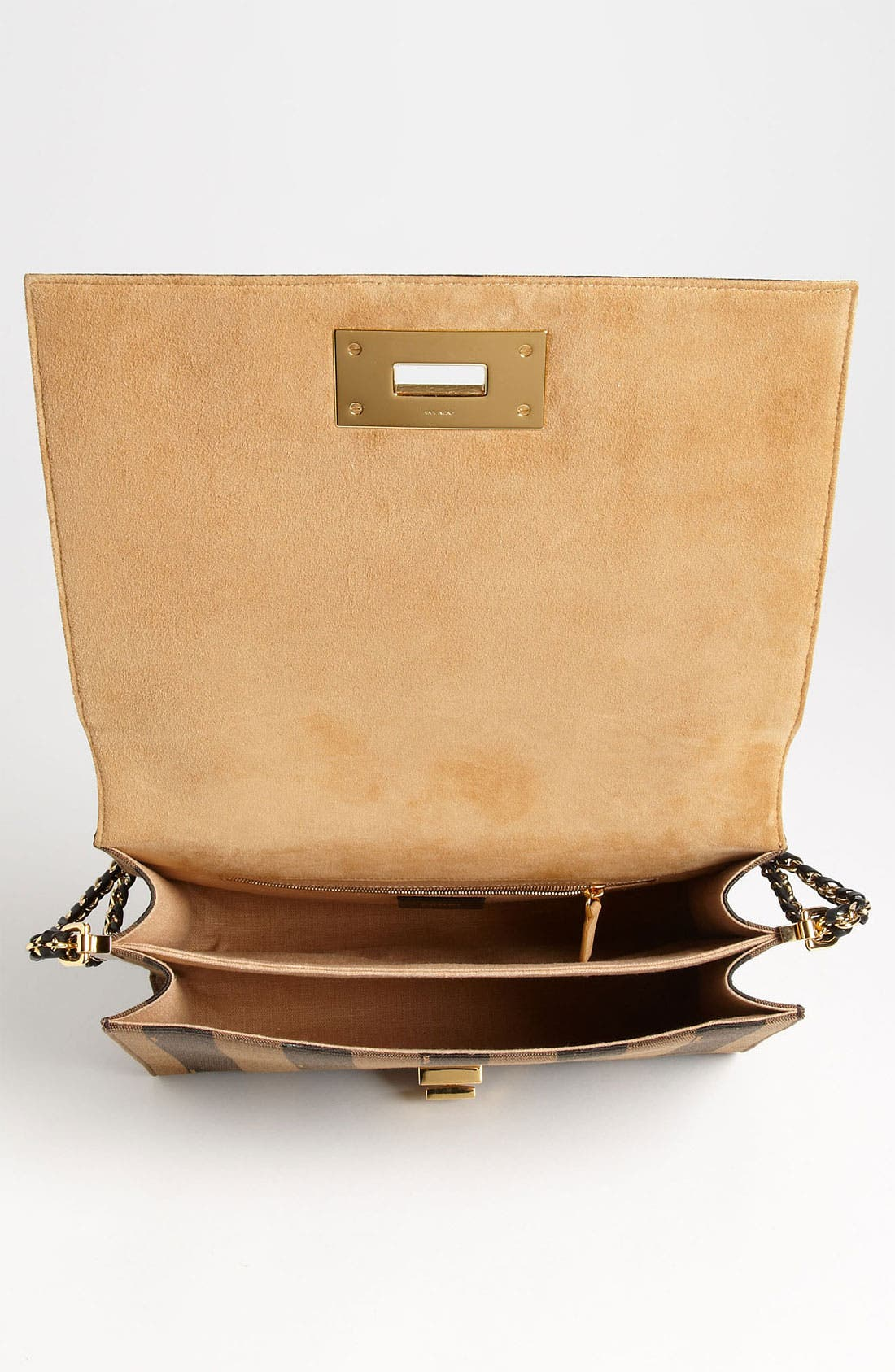 Alternate Image 3  - Fendi 'Large Pequin Claudia' Shoulder Bag