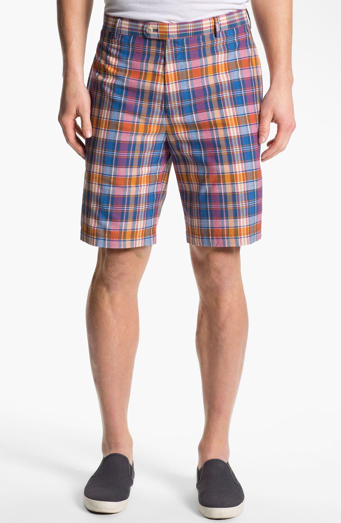 Main Image - Peter Millar 'Bolton' Flat Front Shorts