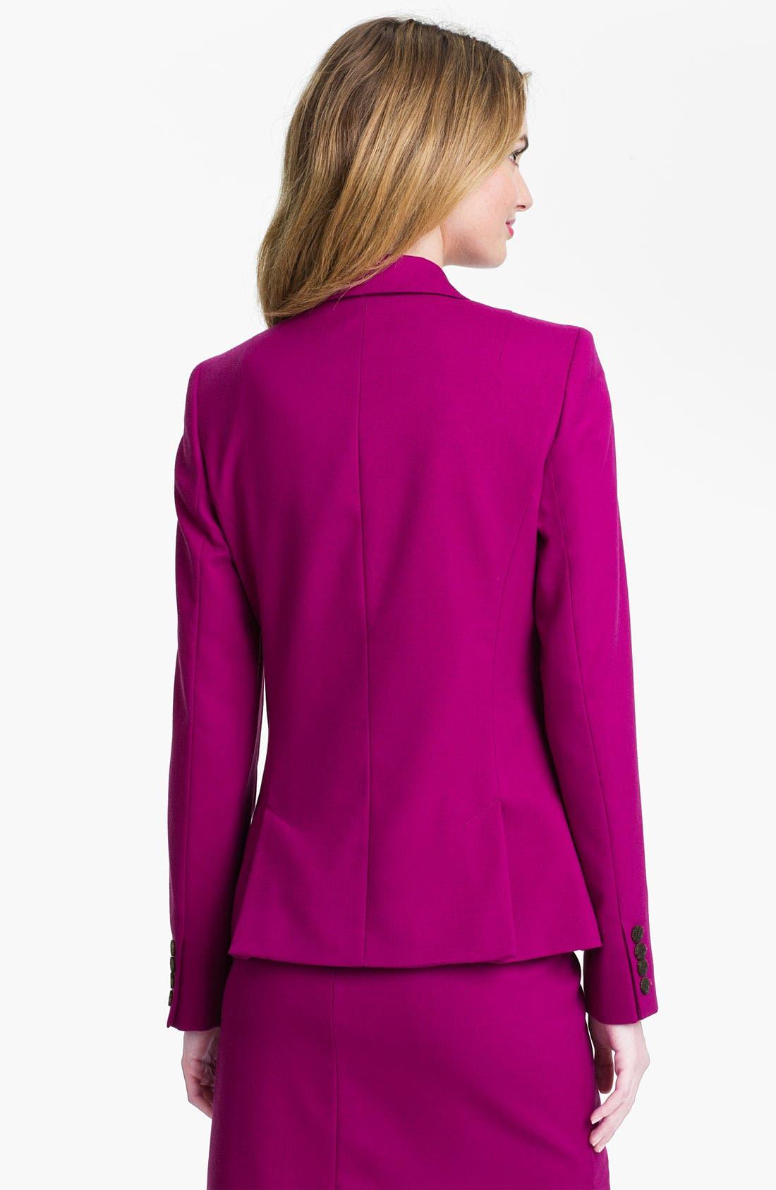 Alternate Image 2  - Anne Klein Two Button Blazer