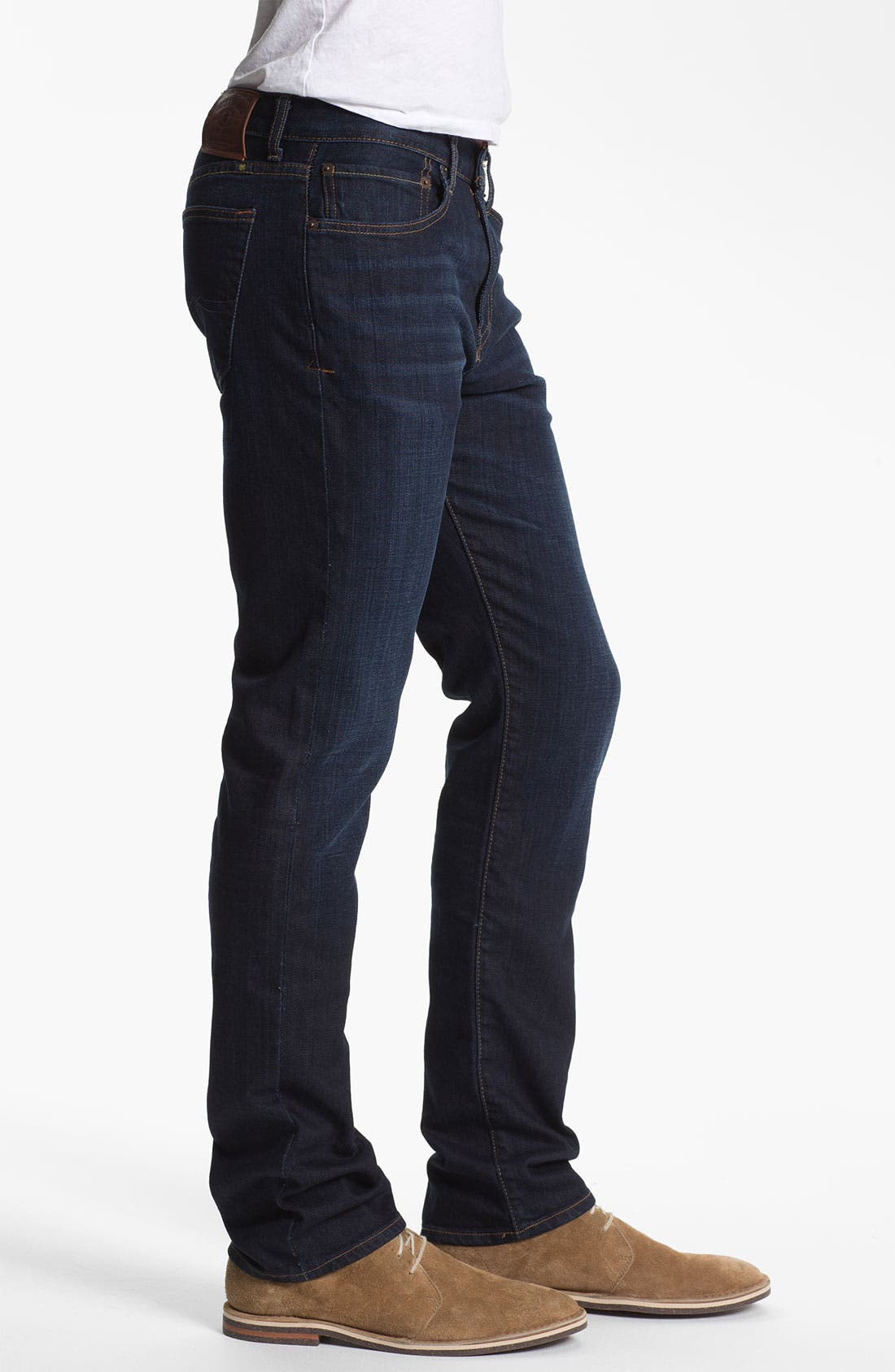 Alternate Image 3  - Lucky Brand 'Dean' Straight Leg Jeans (Dark Stevie) (Online Only)