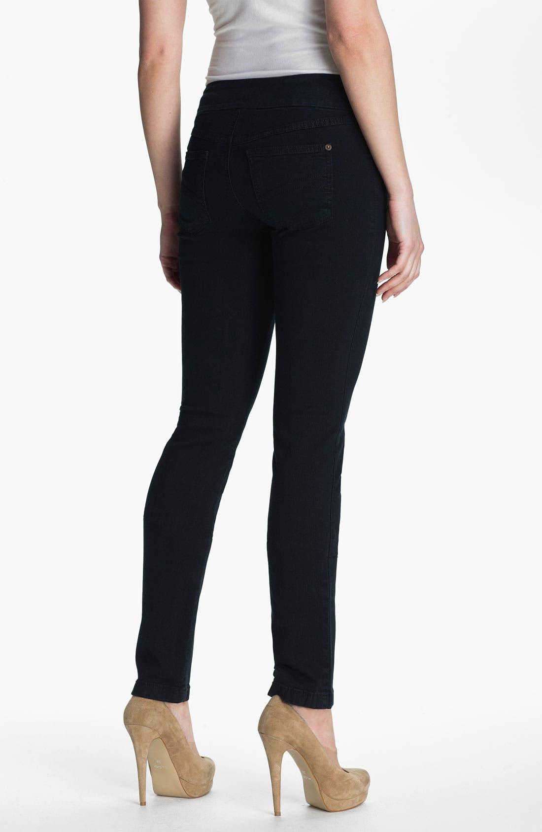 Alternate Image 2  - Second Yoga Jeans Pull-On Skinny Jeans