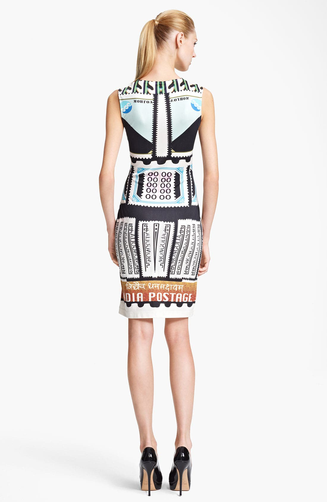 Alternate Image 2  - Mary Katrantzou India Print Jersey Dress