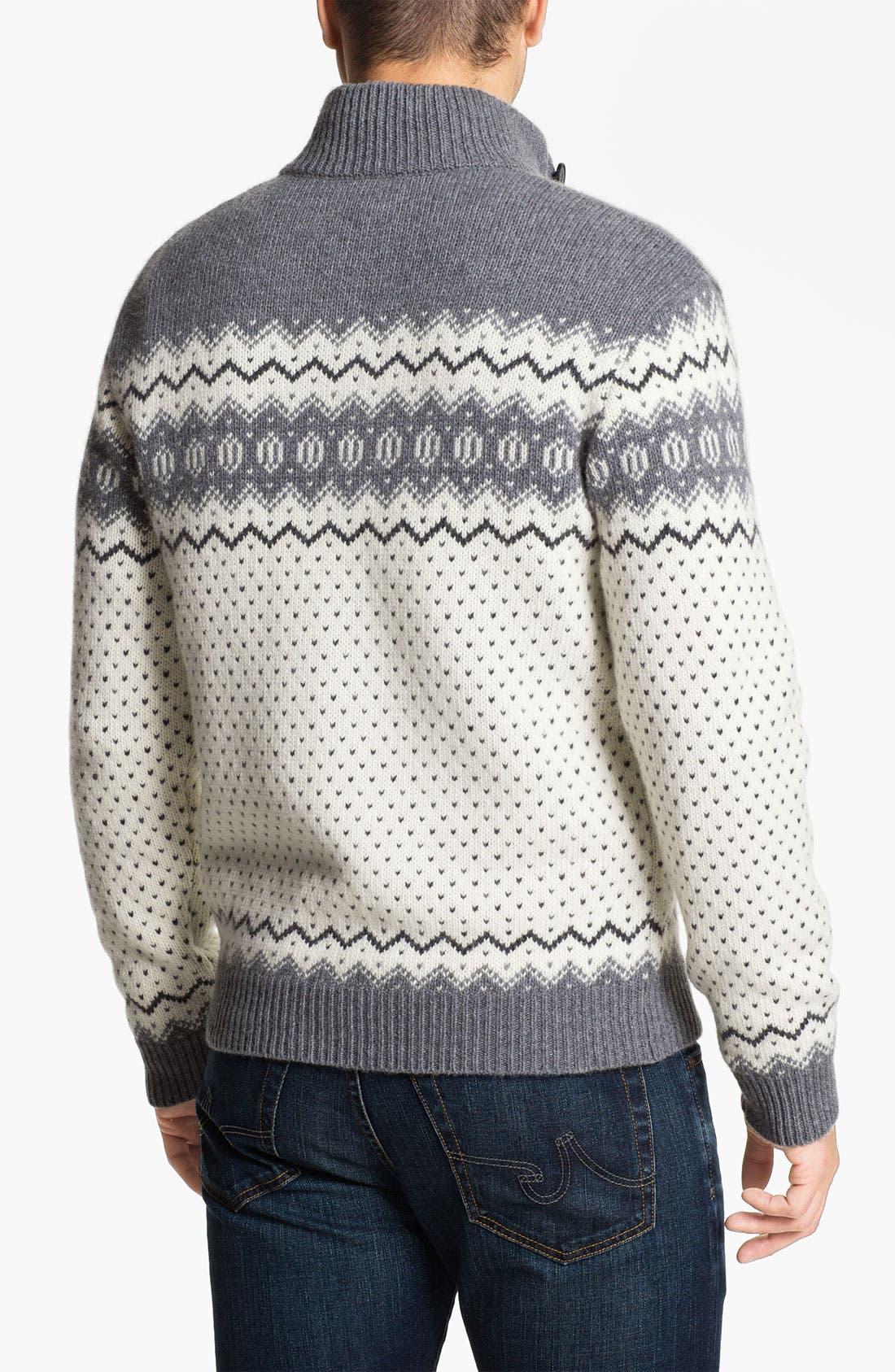 Alternate Image 2  - Fiesole Mock Neck Wool Blend Sweater