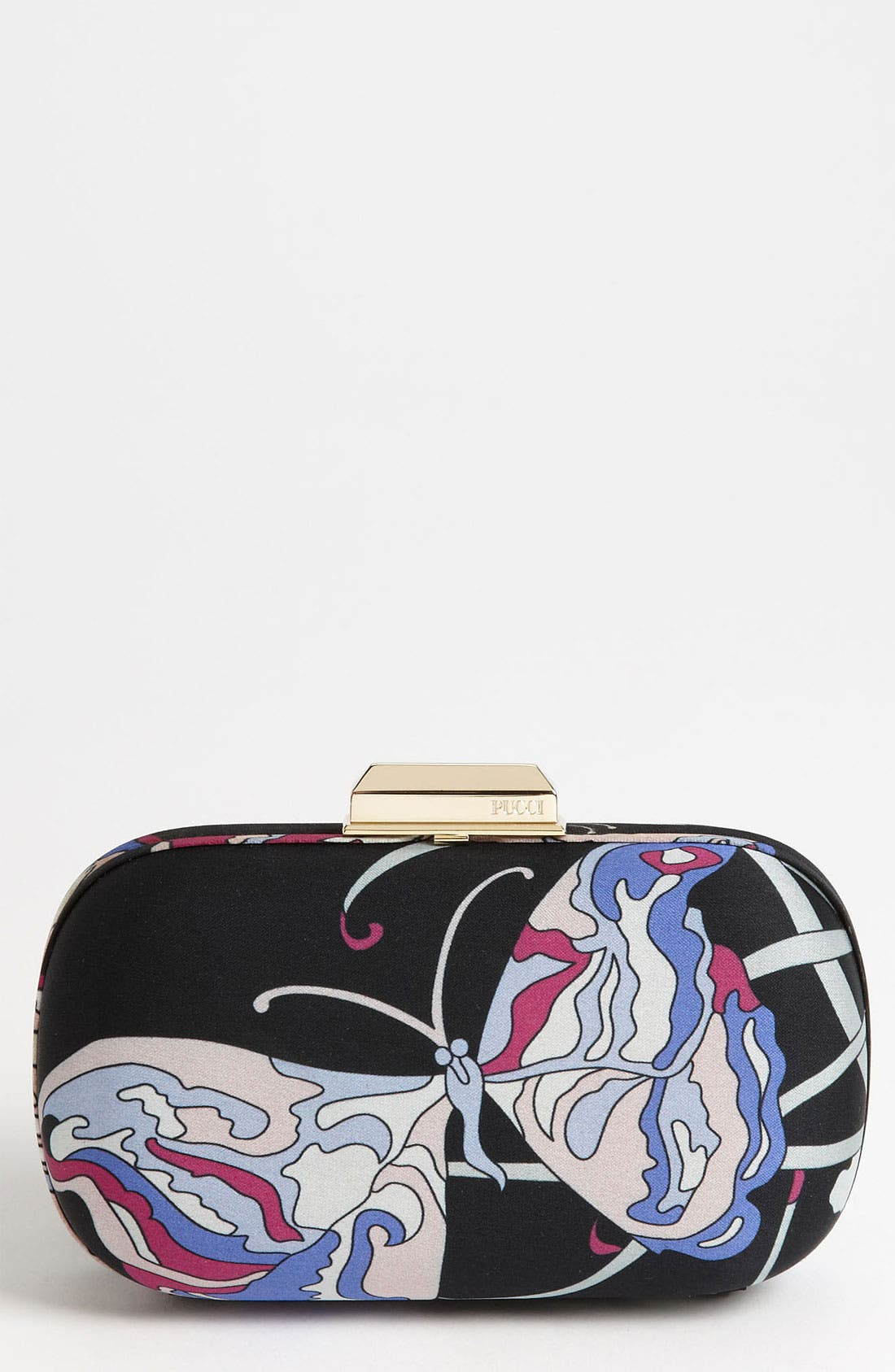 Alternate Image 1 Selected - Emilio Pucci 'Butterfly' Silk Minaudiere