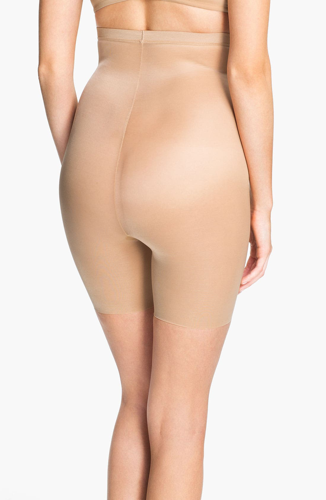 Alternate Image 2  - SPANX® 'Skinny Britches' High Waist Shorts (Shaper)