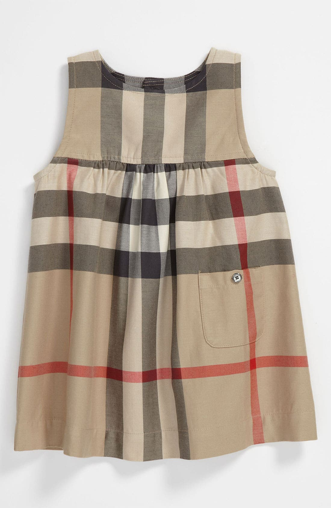 Alternate Image 1 Selected - Burberry 'Della' Dress (Toddler)