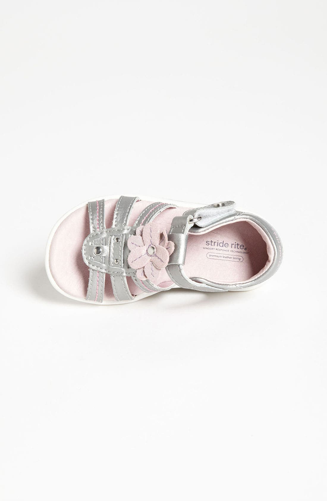 Alternate Image 3  - Stride Rite 'Brenna' Sandal (Baby, Walker & Toddler)
